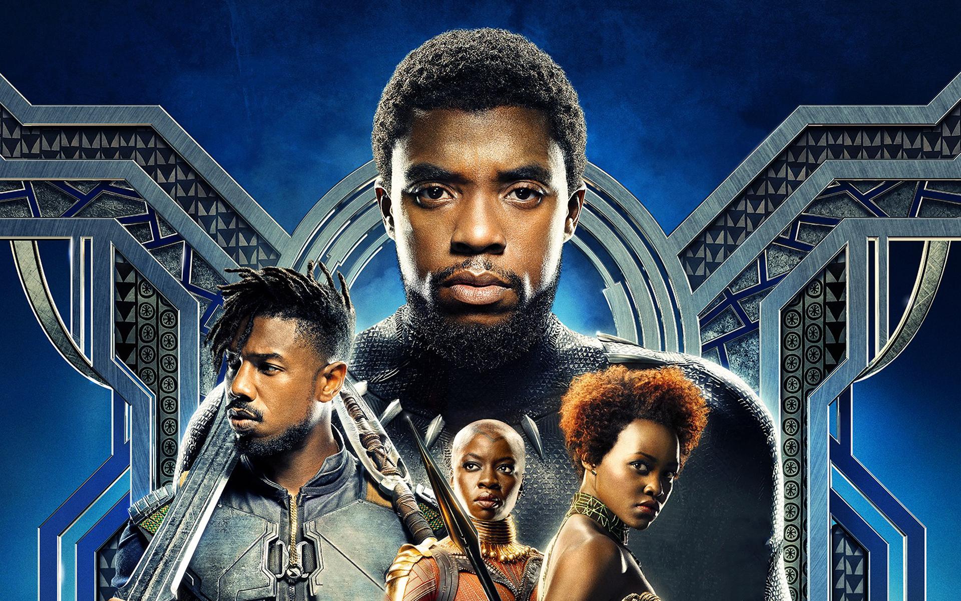 black panther 2018 movie full hd wallpaper
