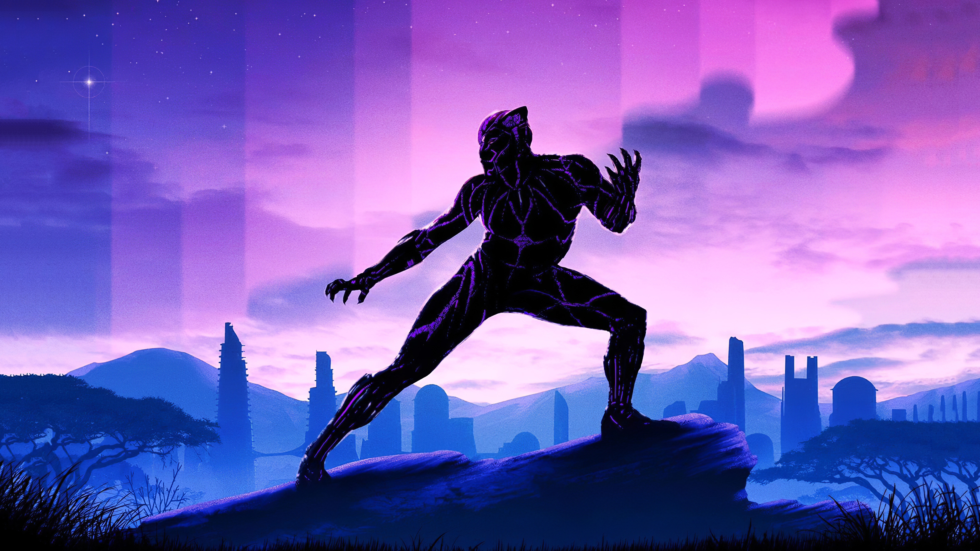 320x568 Black Panther 2020 320x568 Resolution Wallpaper Hd Superheroes 4k Wallpapers Images Photos And Background