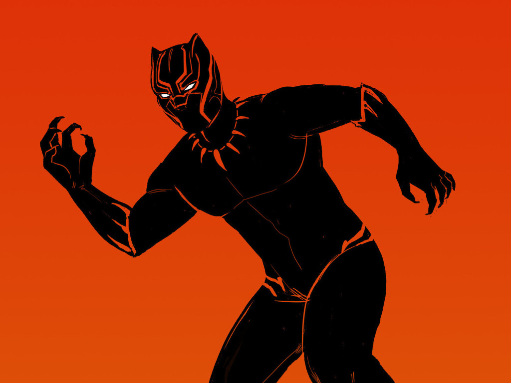 Black Panther Comic Wallpaper: Black Panther Comic Artwork, Full HD Wallpaper