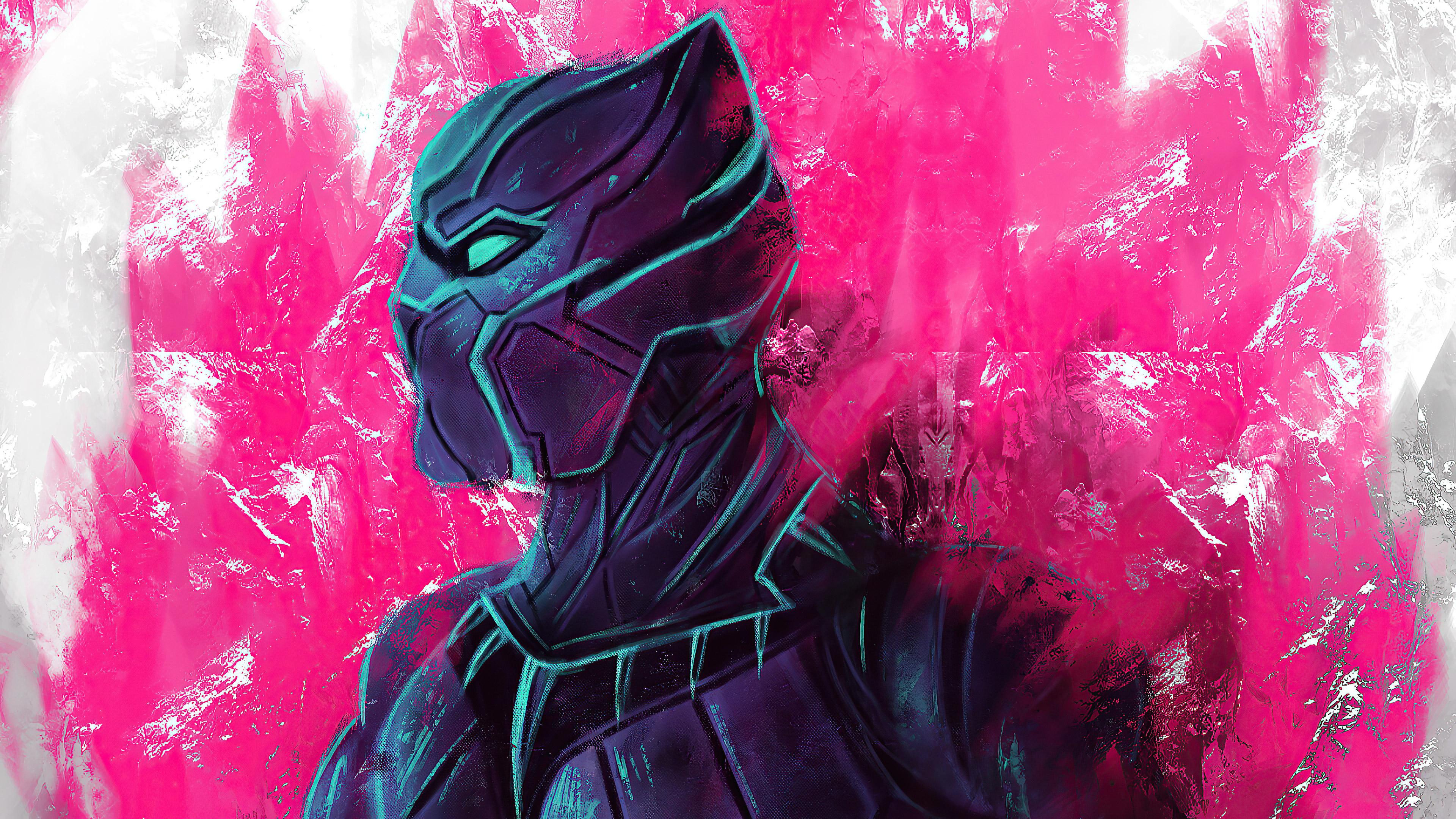 Black Panther Marvel Comic Wallpaper, HD Superheroes 4K ...