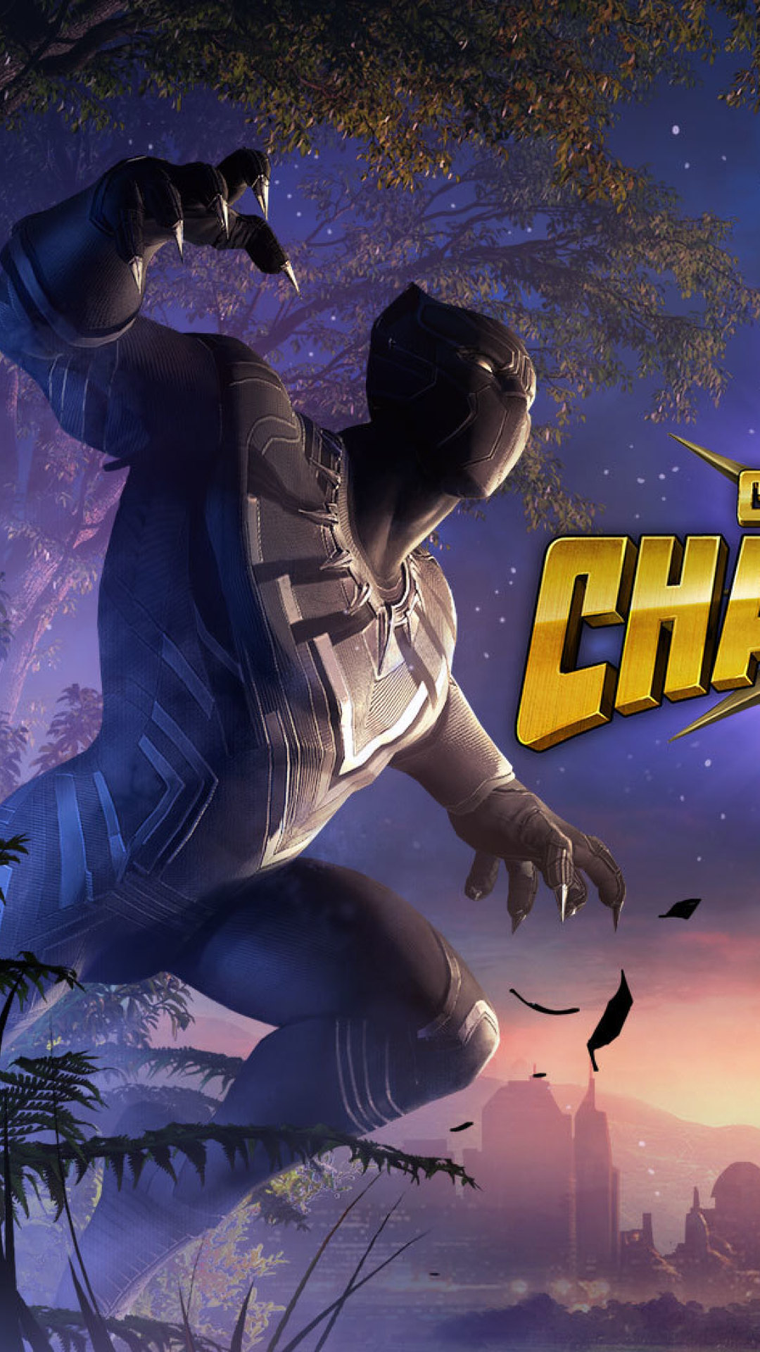 Black Panther Marvel Contest Of Champions, Full HD Wallpaper