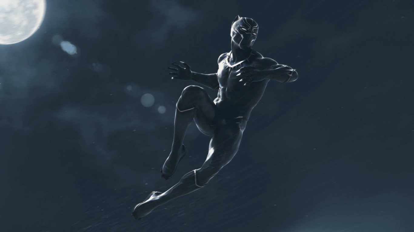 1366x768 Black Panther Marvel Movie 1366x768 Resolution Wallpaper Hd Movies 4k Wallpapers Images Photos And Background
