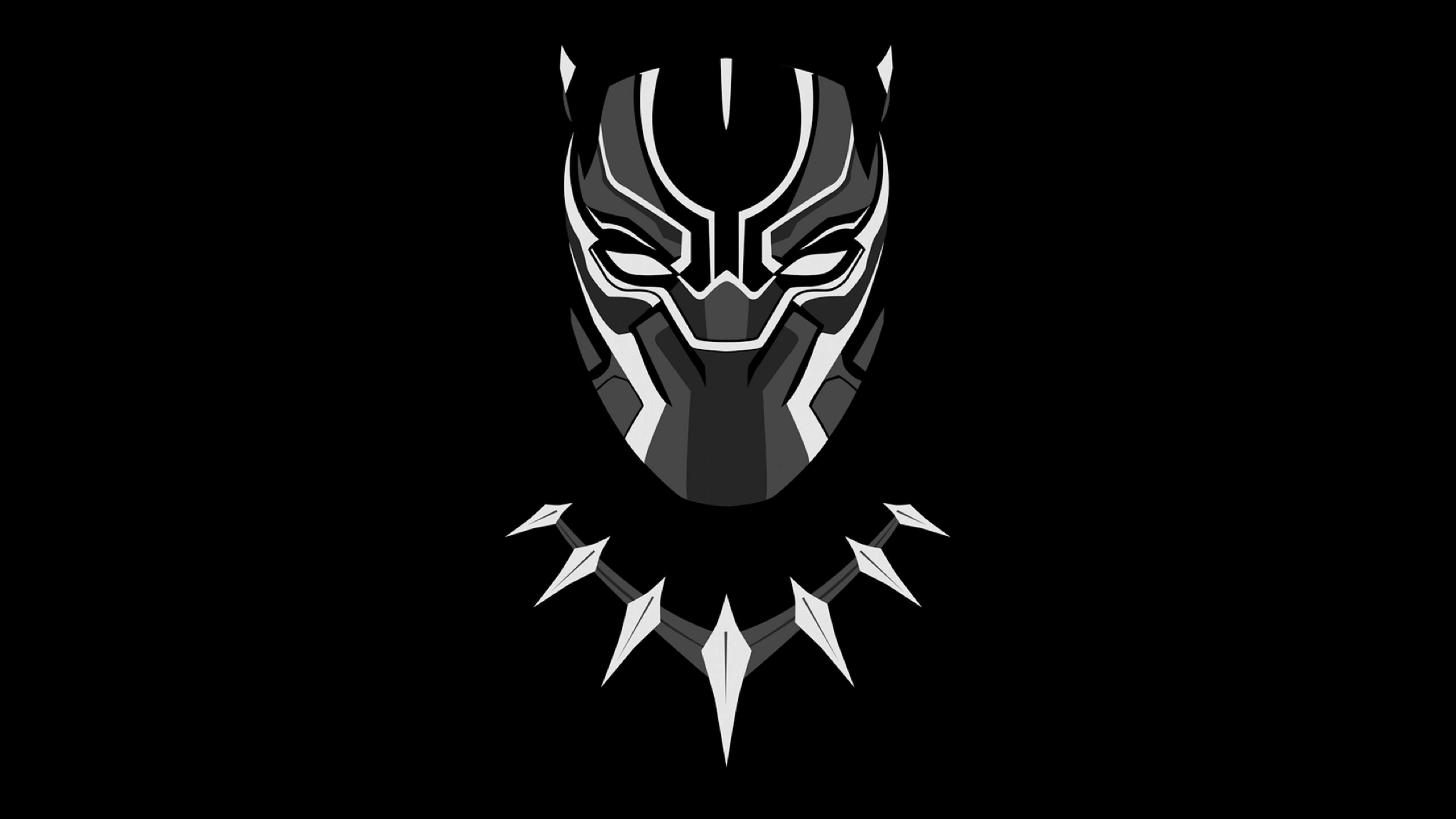 7680x4320 Black Panther Minimal Artwork 8k Wallpaper Hd