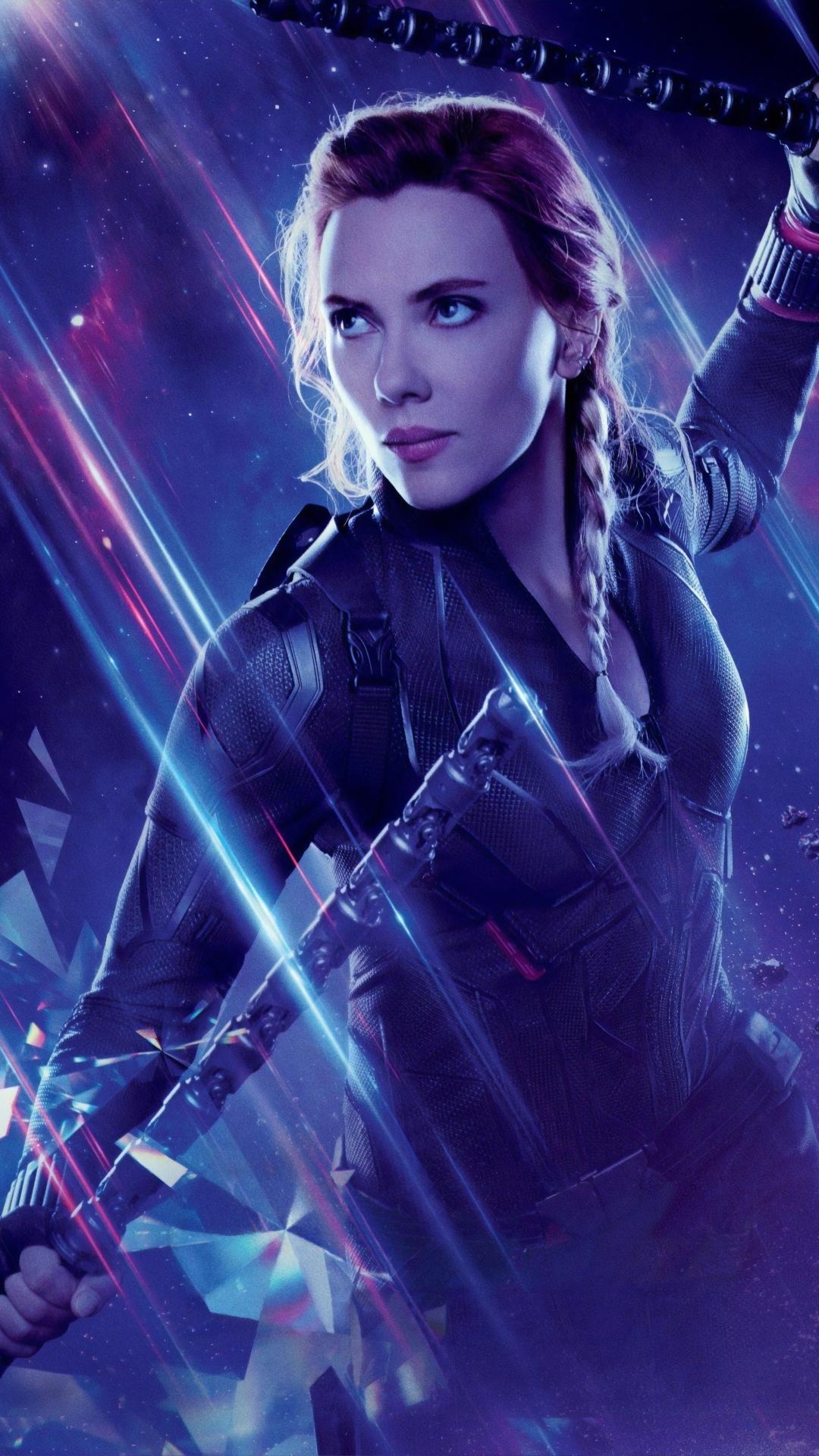 1080x1920 Black Widow in Avengers Endgame Iphone 7, 6s, 6 ...