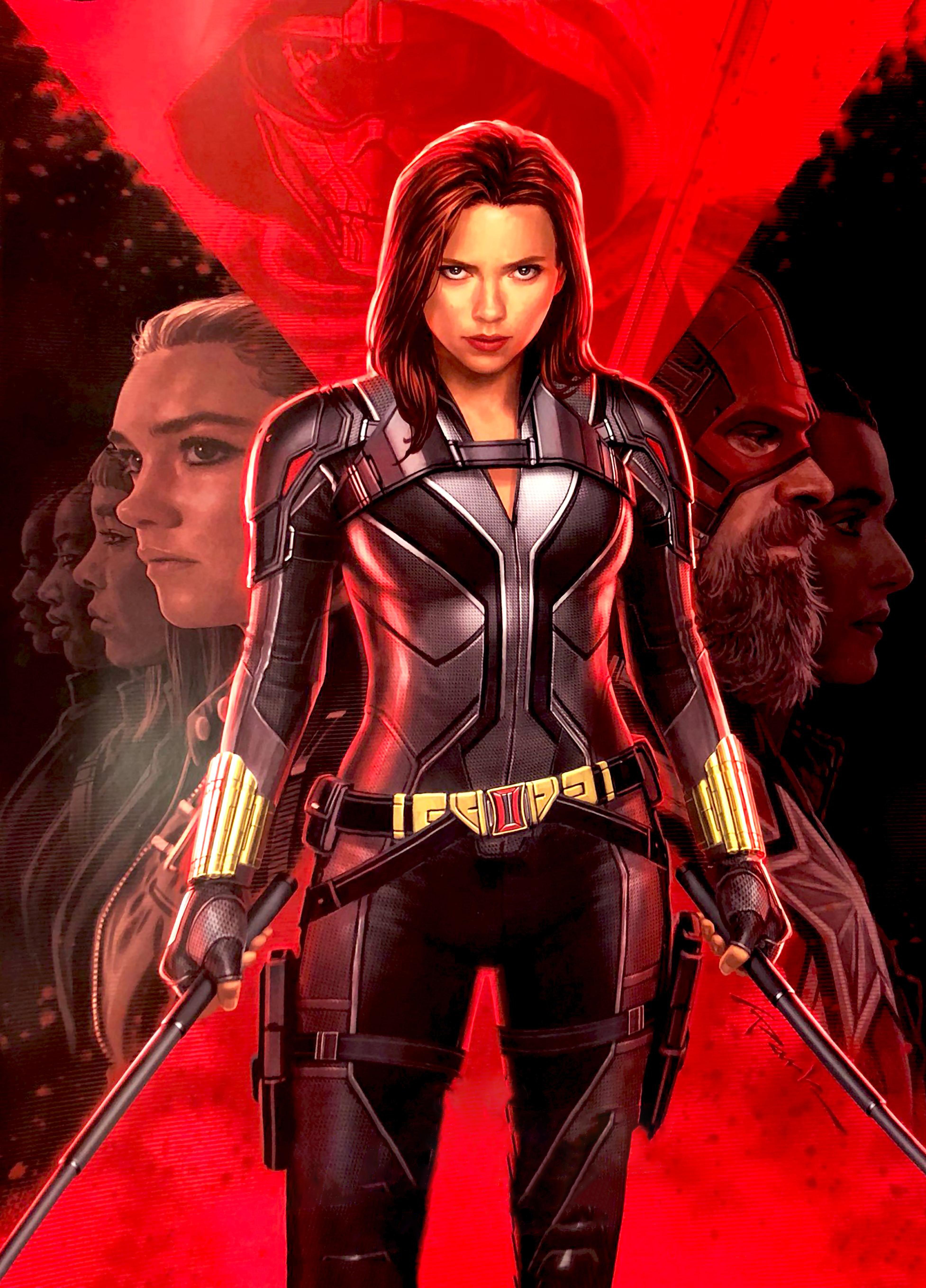 Black Widow Movie Poster Wallpaper, HD Movies 4K ...
