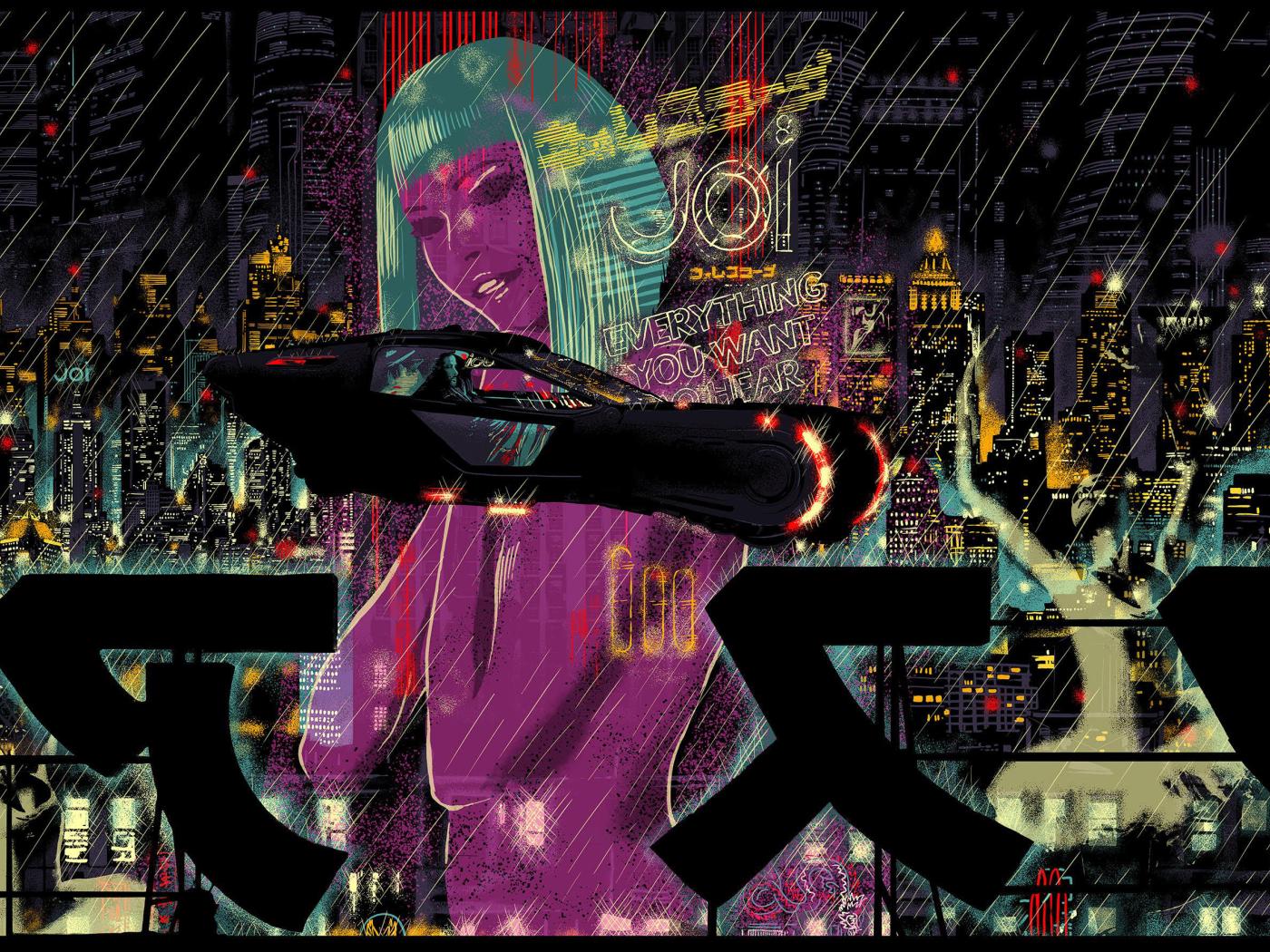 Blade Runner, HD 4K Wallpaper Wallpaper Hd For Mobile Samsung Galaxy S4