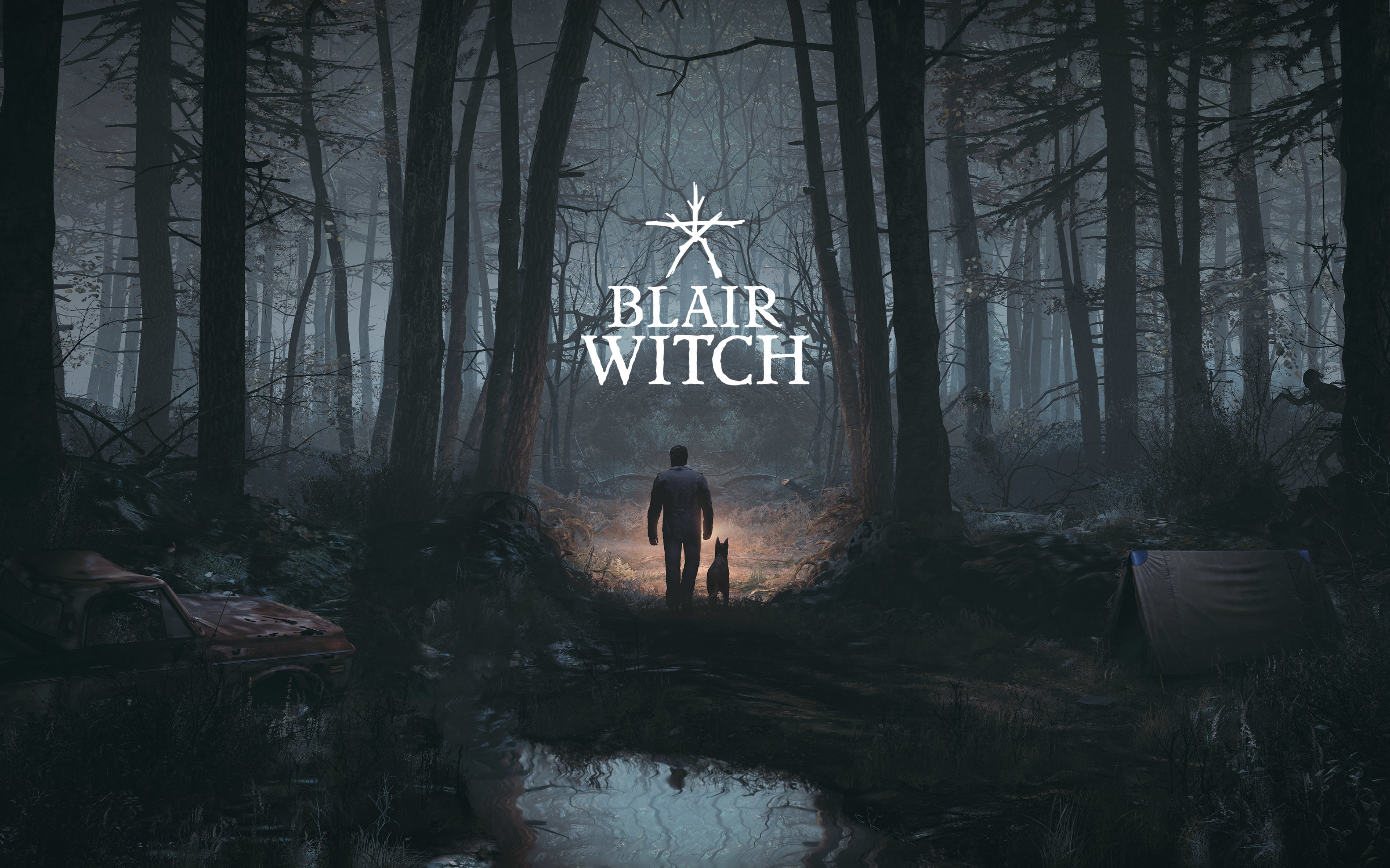 3840x2400 Blair Witch 2019 Game Poster 4k 3840x2400