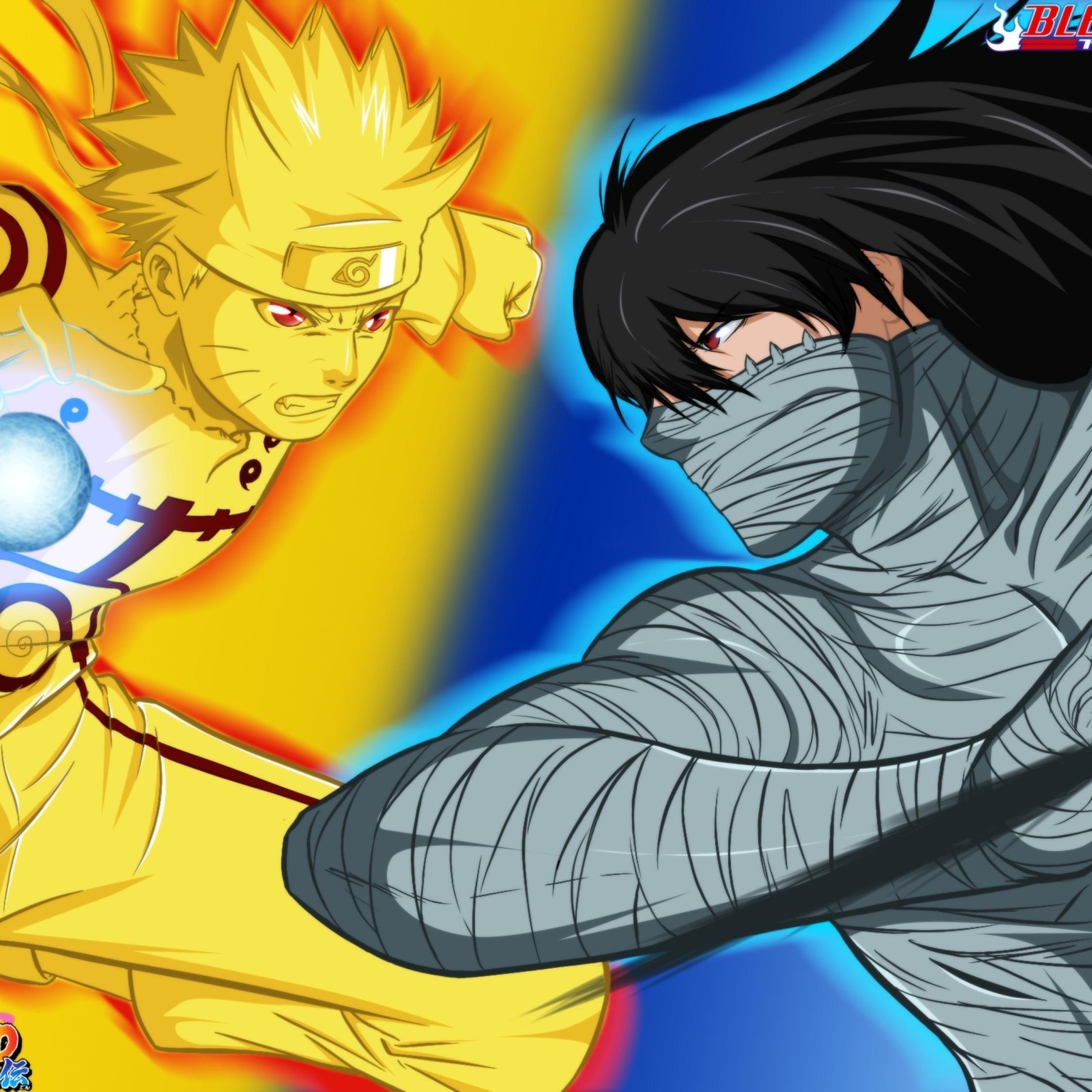Top Wallpaper Naruto Ipad Air - bleach-naruto-naruto-vs-ichigo_6868_2248x2248  Picture_539760.jpg