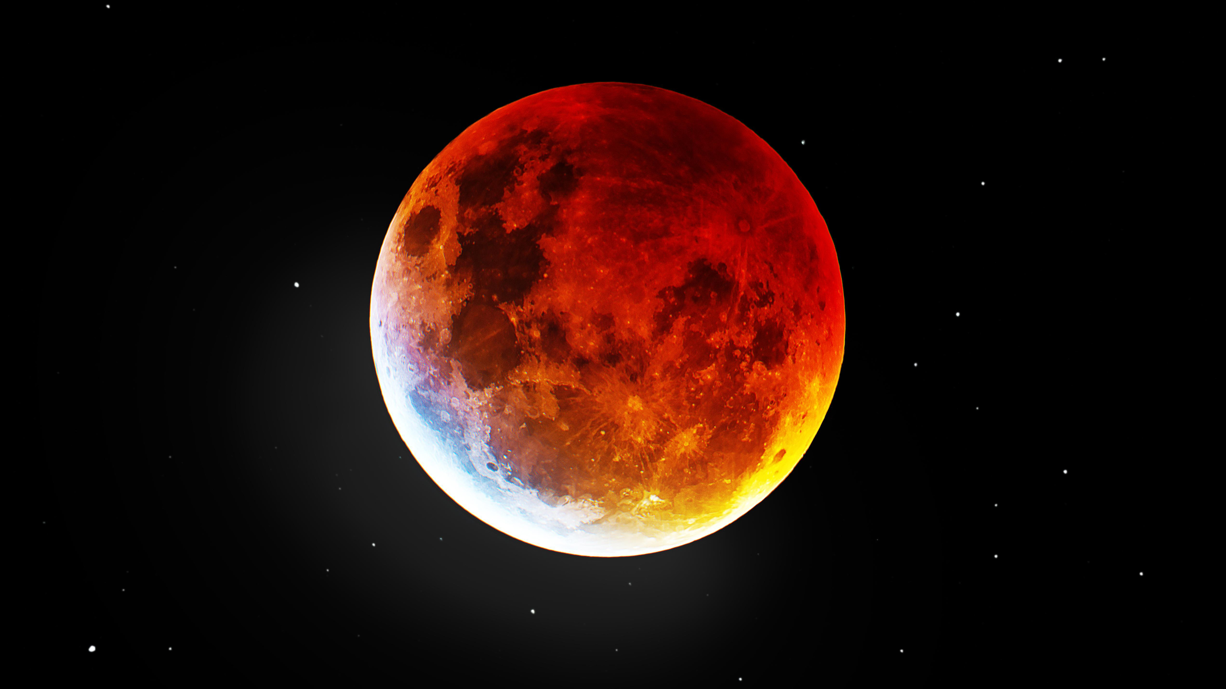 2560x1080 Blood Moon 4k 2560x1080 Resolution Wallpaper Hd Space 4k Wallpapers Images Photos And Background