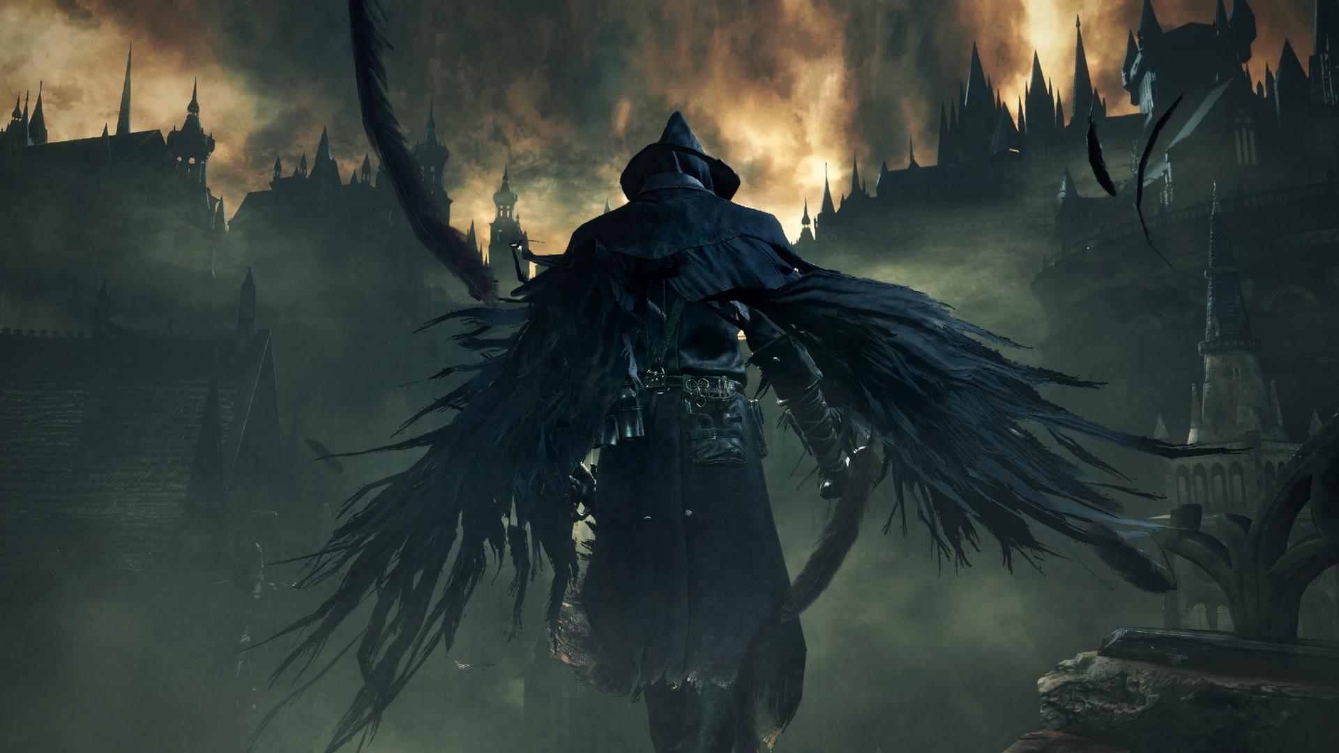 1920x1080 Bloodborne Dark Souls Wings 1080p Laptop Full Hd