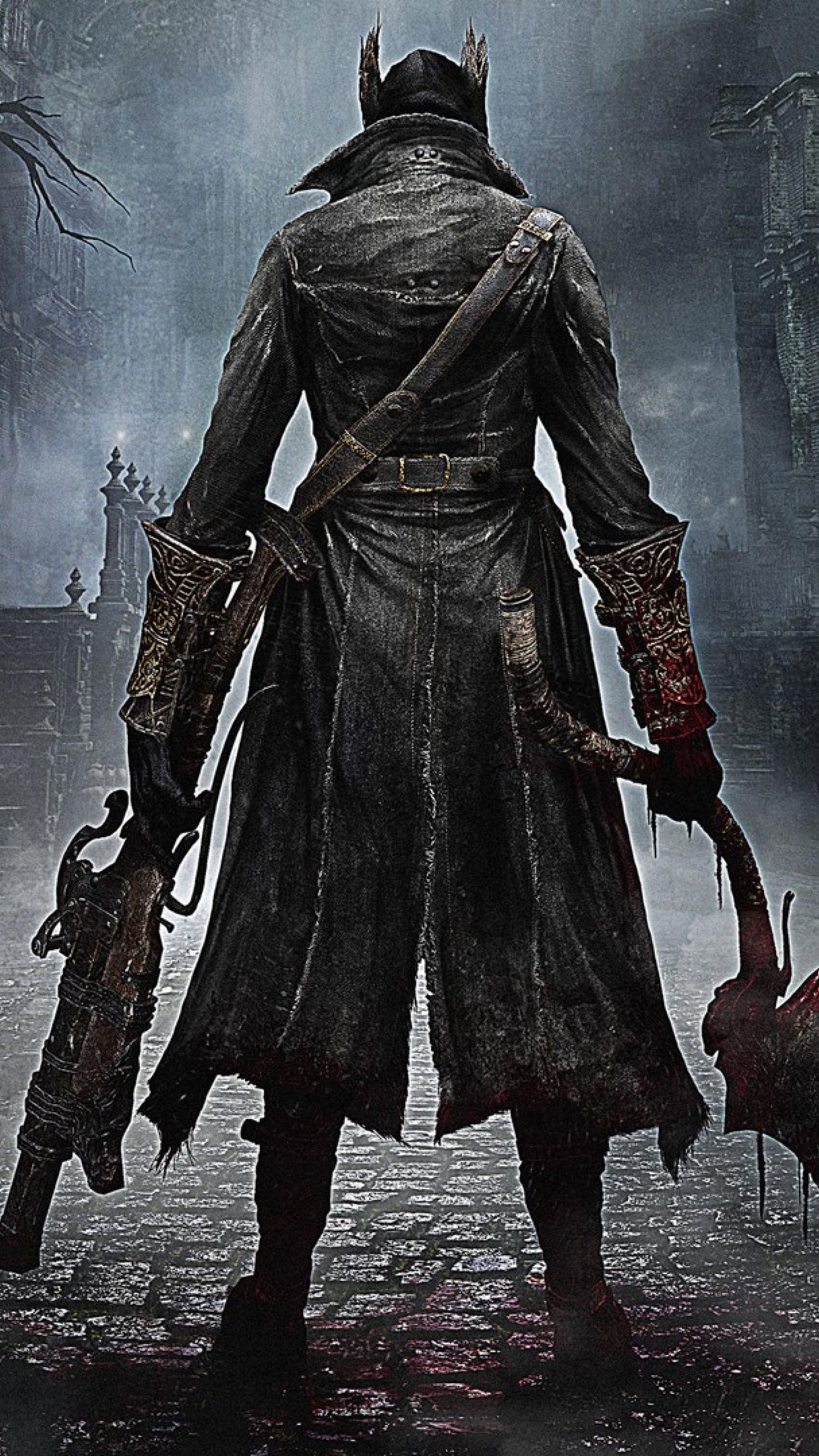 2160x3840 bloodborne, from software, playstation 4 Sony ...