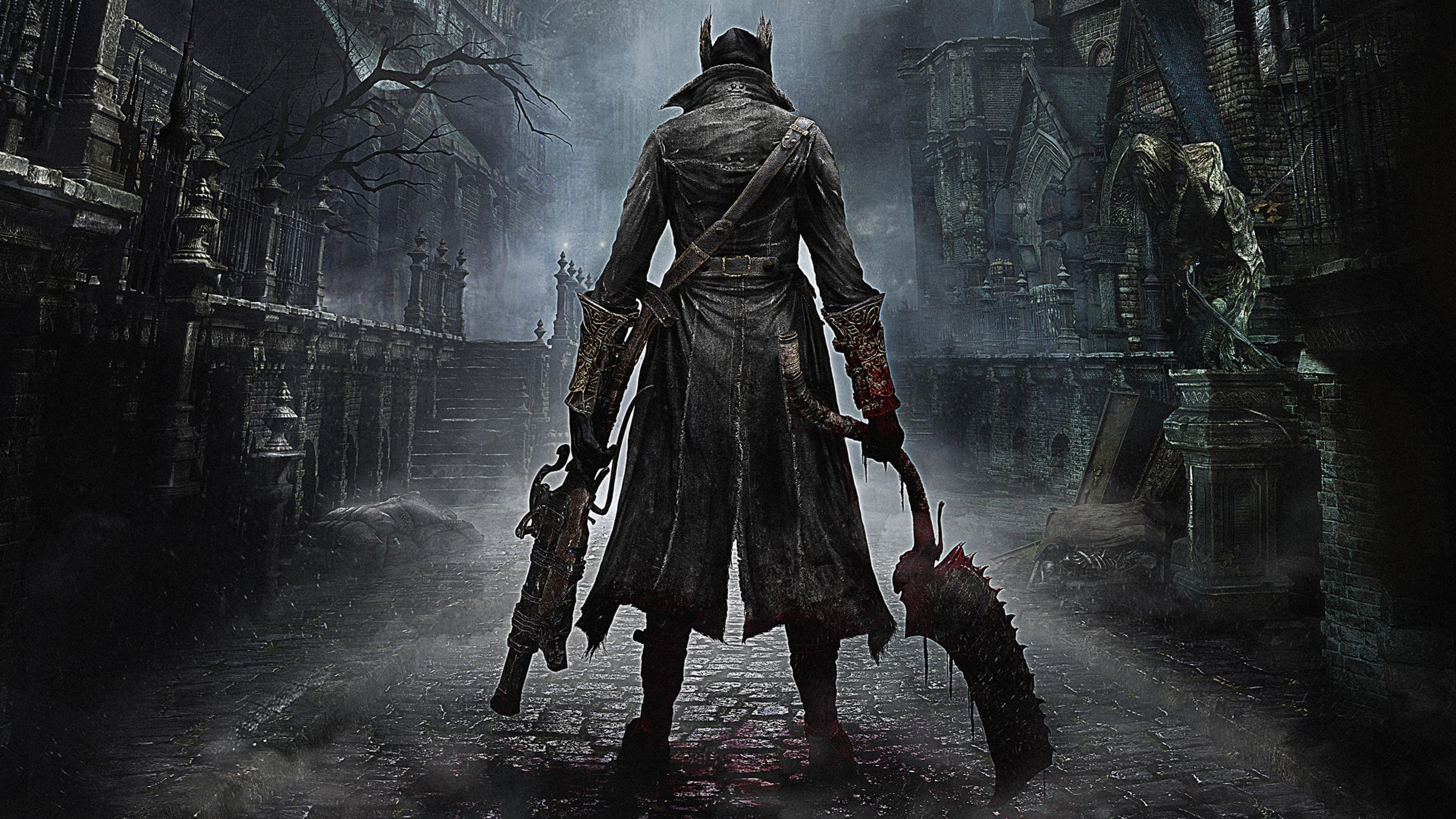Bloodborne, From Software, Playstation 4, Full HD Wallpaper