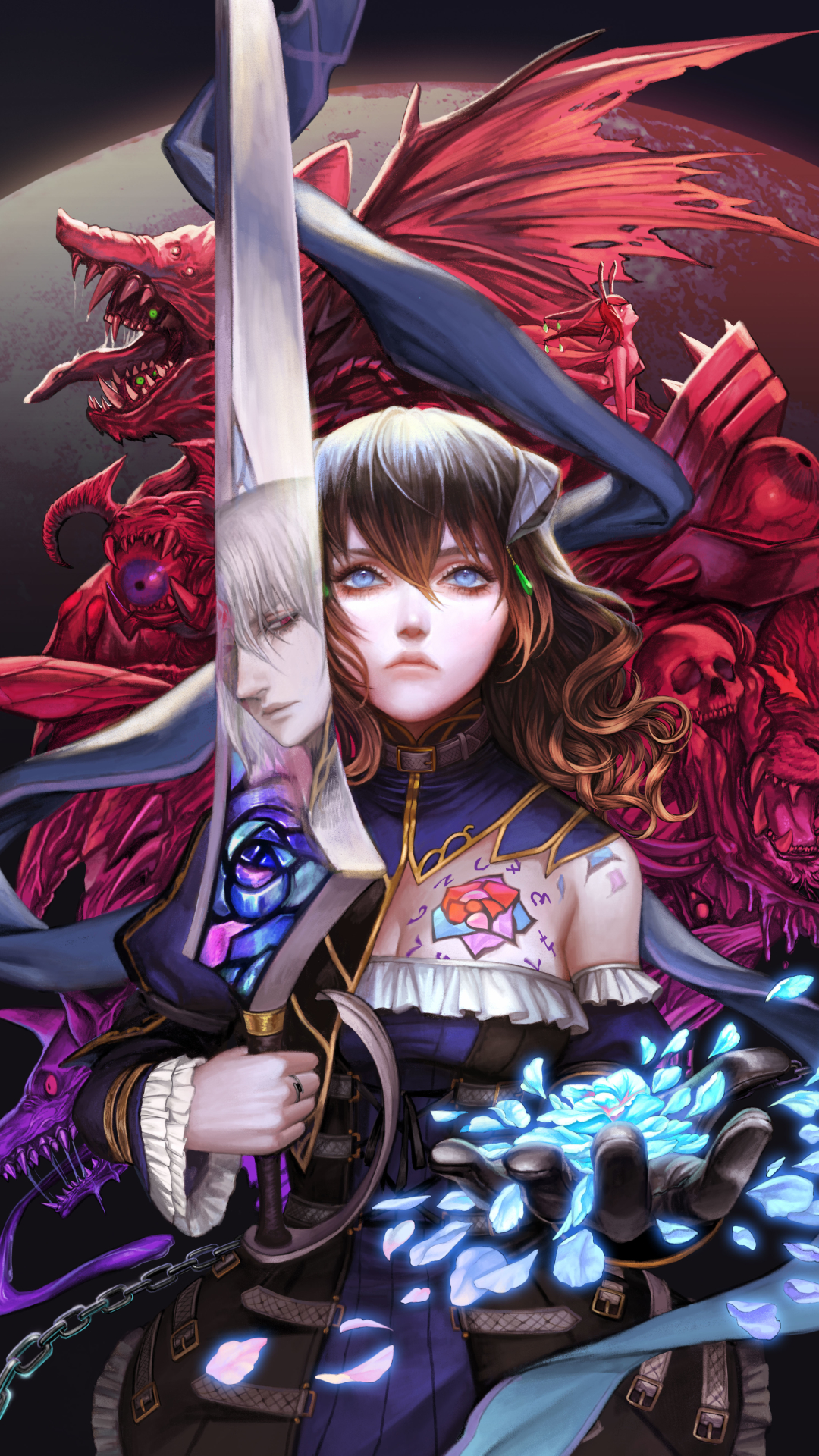 1080x1920 Bloodstained Ritual of the Night 8K Iphone 7, 6s ...