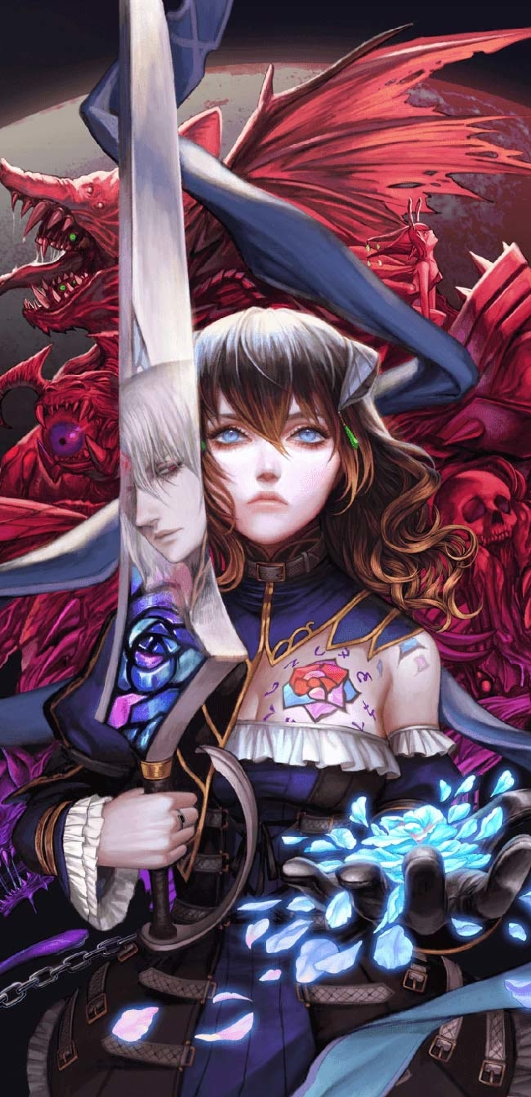 1080x2232 Bloodstained Ritual of the Night 1080x2232 ...