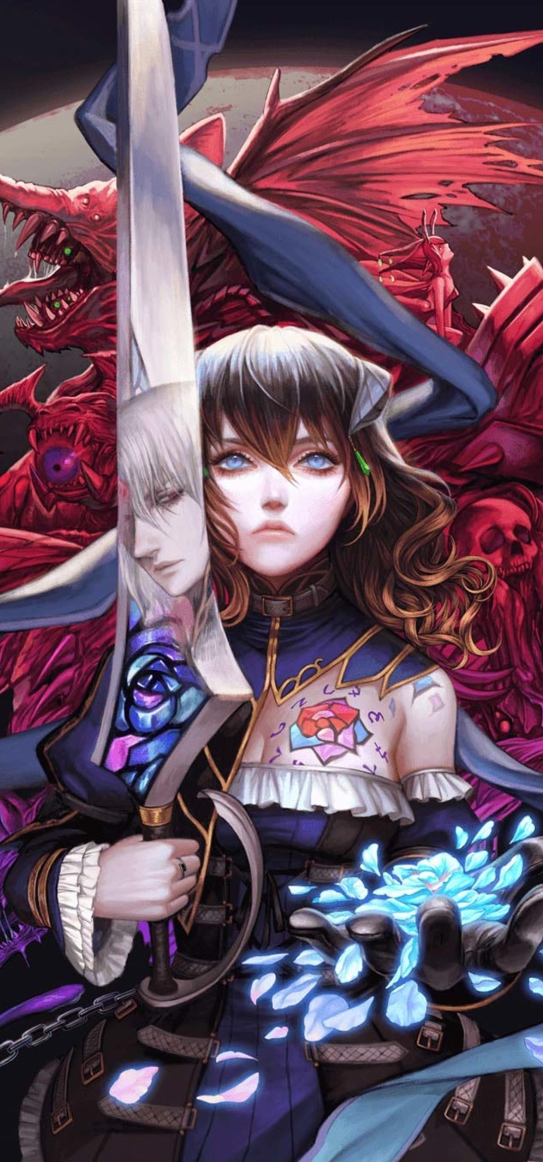 1080x2310 Bloodstained Ritual of the Night 1080x2310 ...