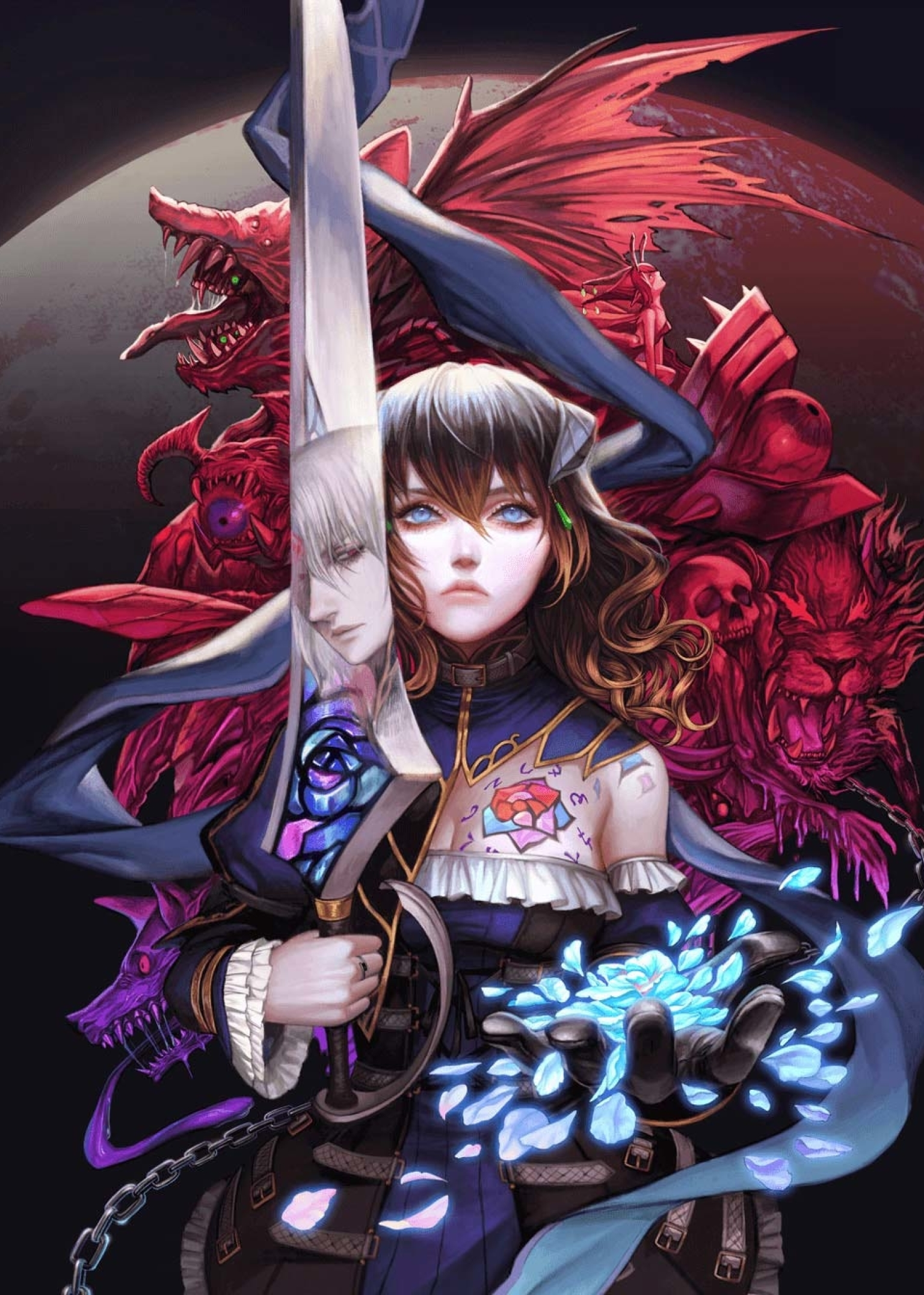 1536x2152 Bloodstained Ritual of the Night 1536x2152 ...