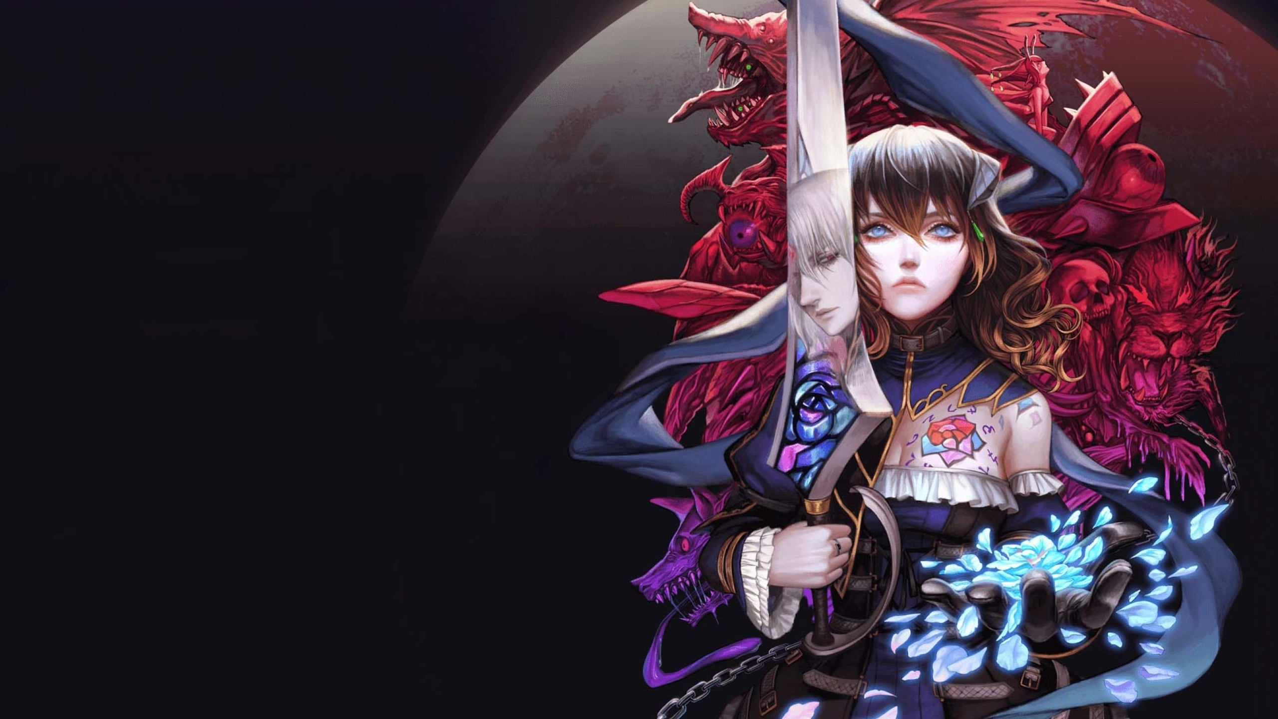 2560x1440 Bloodstained Ritual of the Night 1440P Resolution Wallpaper, HD Games 4K Wallpapers ...