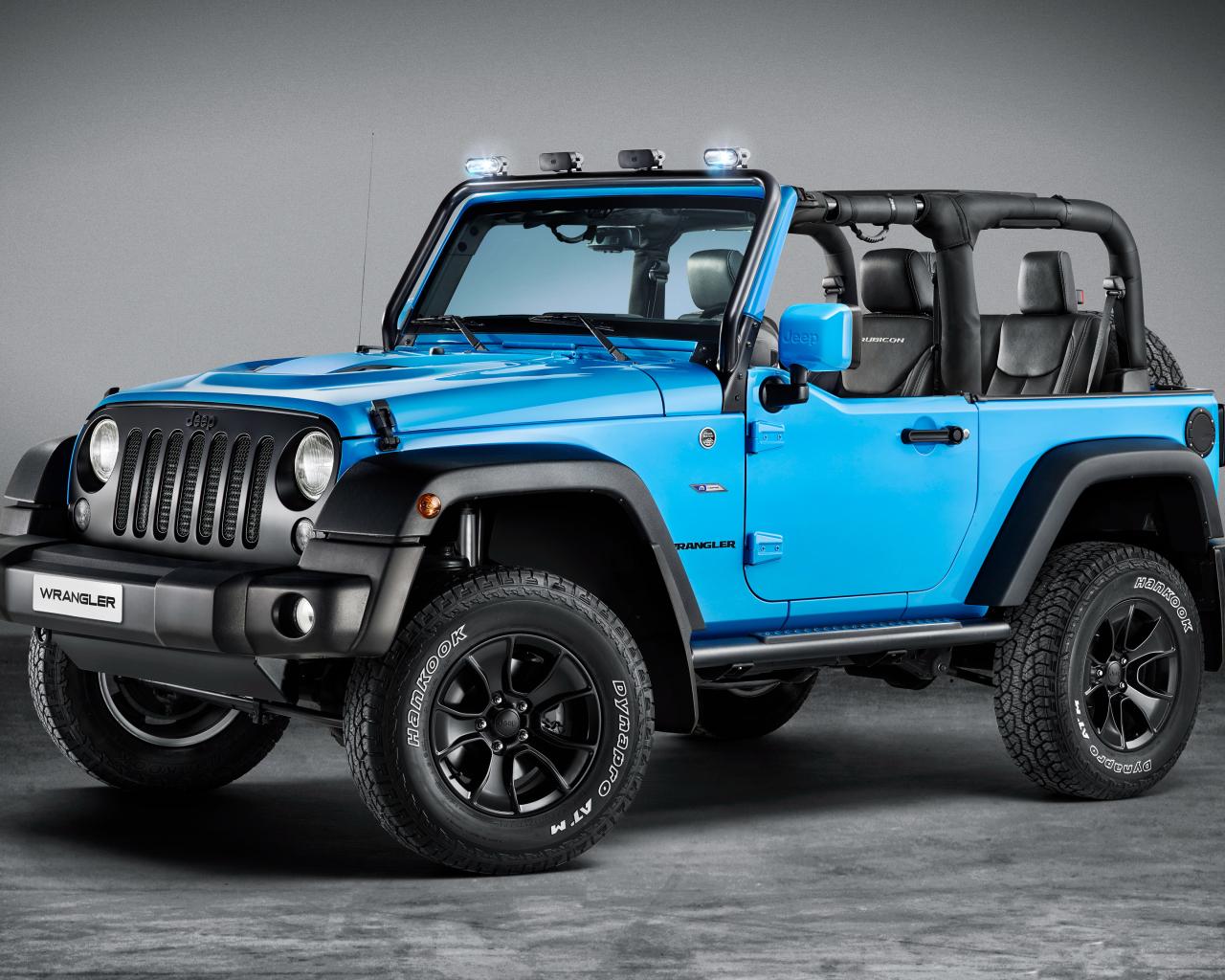 Blue Jeep Wrangler Rubicon Hd 4k Wallpaper
