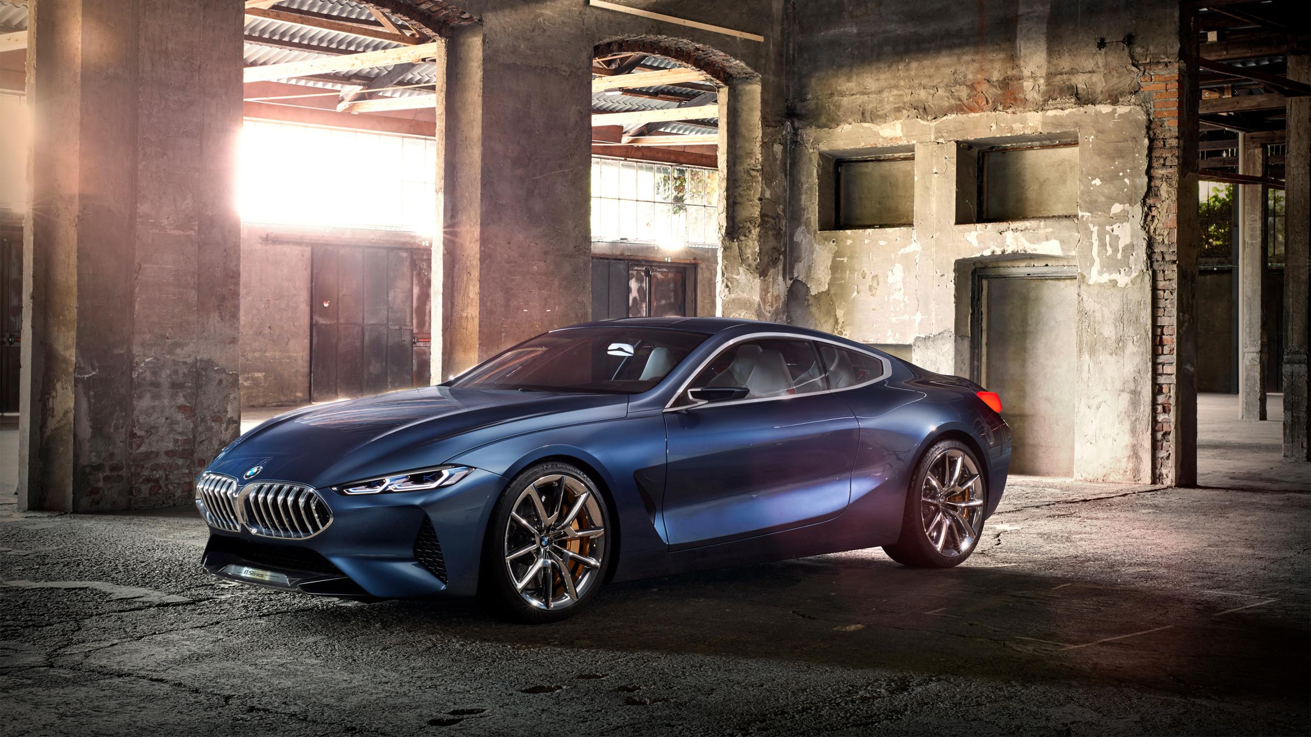 2560x1440 BMW Concept 8 Series 1440P Resolution Wallpaper ...