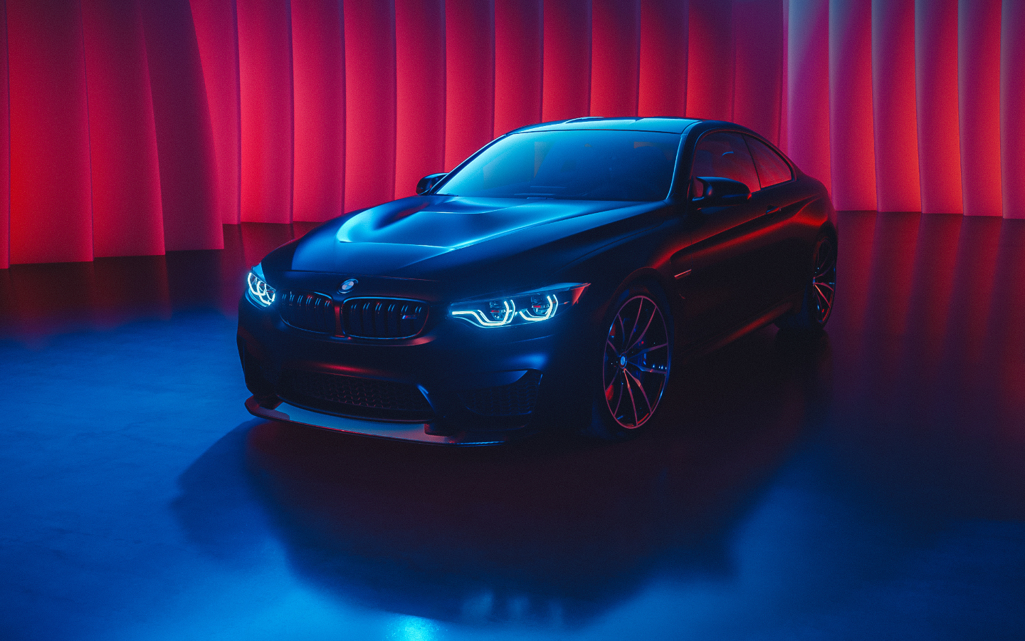Bmw M4 Neon Color Art Hd 4k Wallpaper