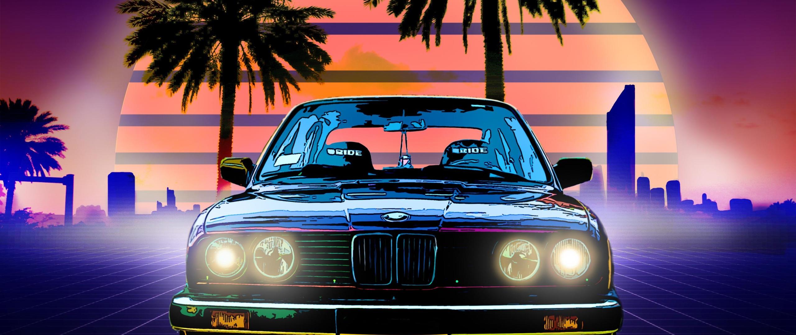Bmw Retro Style Hd 4k Wallpaper