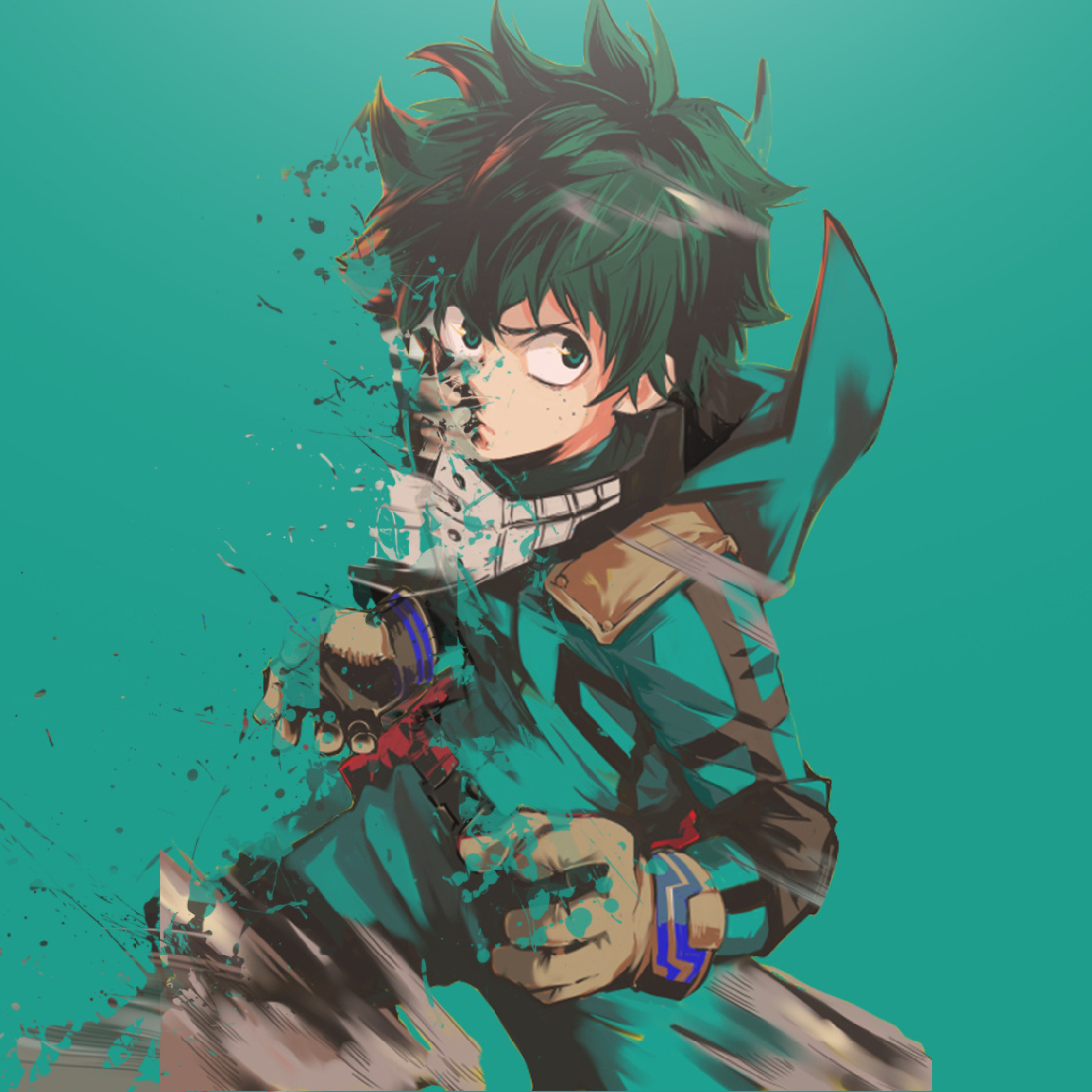 Manga Images Diamond No Ace Hd Wallpaper And Background: Boku No Hero Academia Midoriya Izuku Art, Full HD Wallpaper