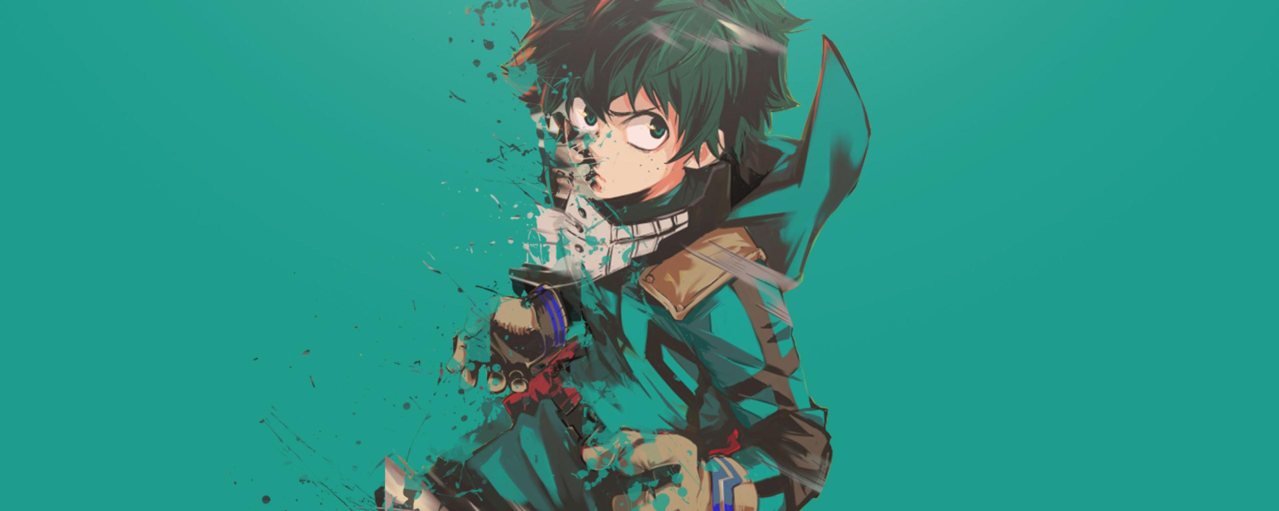 2560x1024 Boku No Hero Academia Midoriya Izuku Art 2560x1024