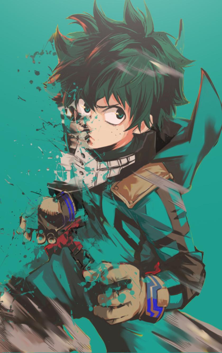 Boku No Hero Academia Midoriya Izuku Art Full Hd Wallpaper