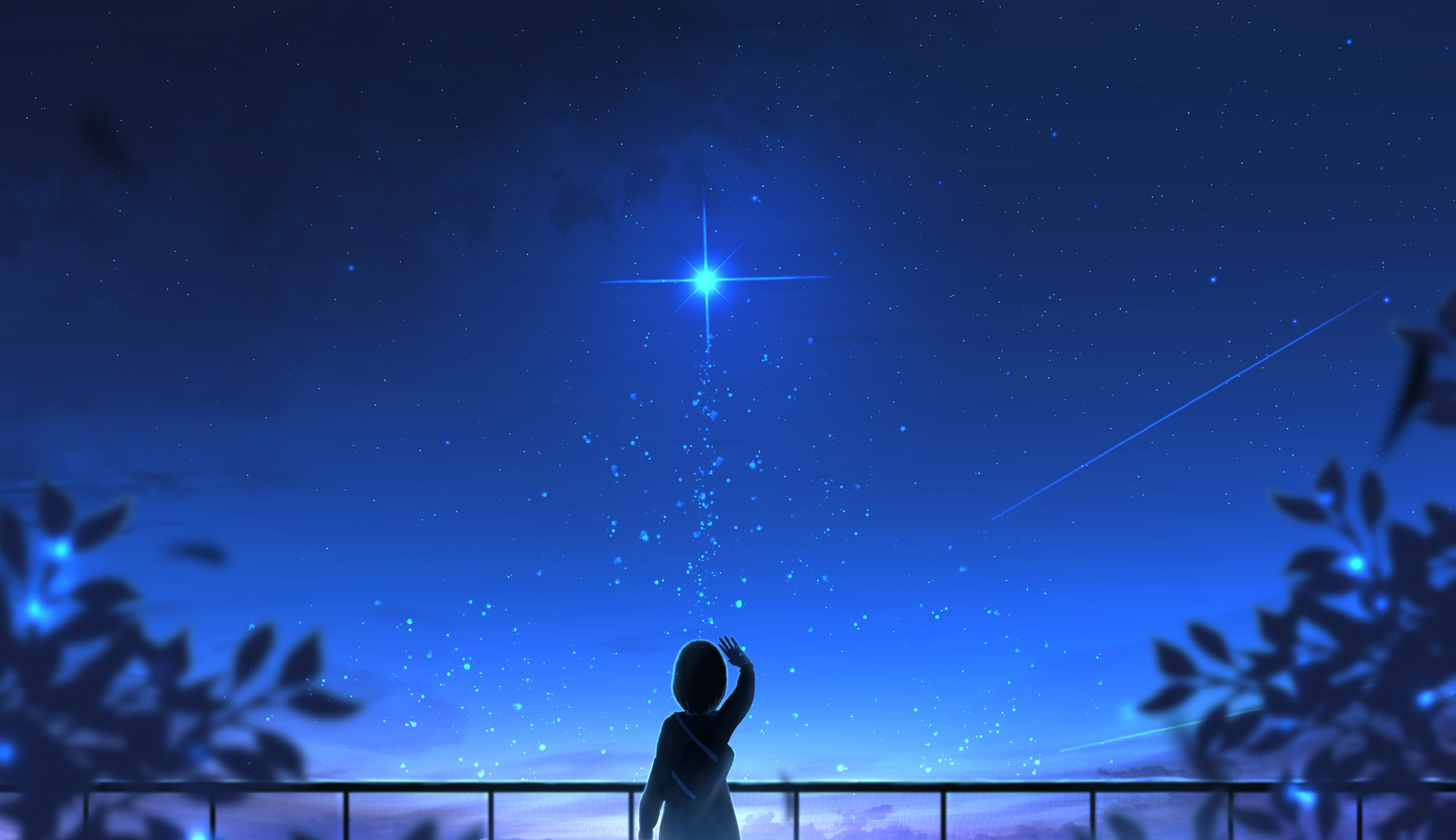 Broken Girl Looking At Sky Wallpaper Hd Anime 4k Wallpapers