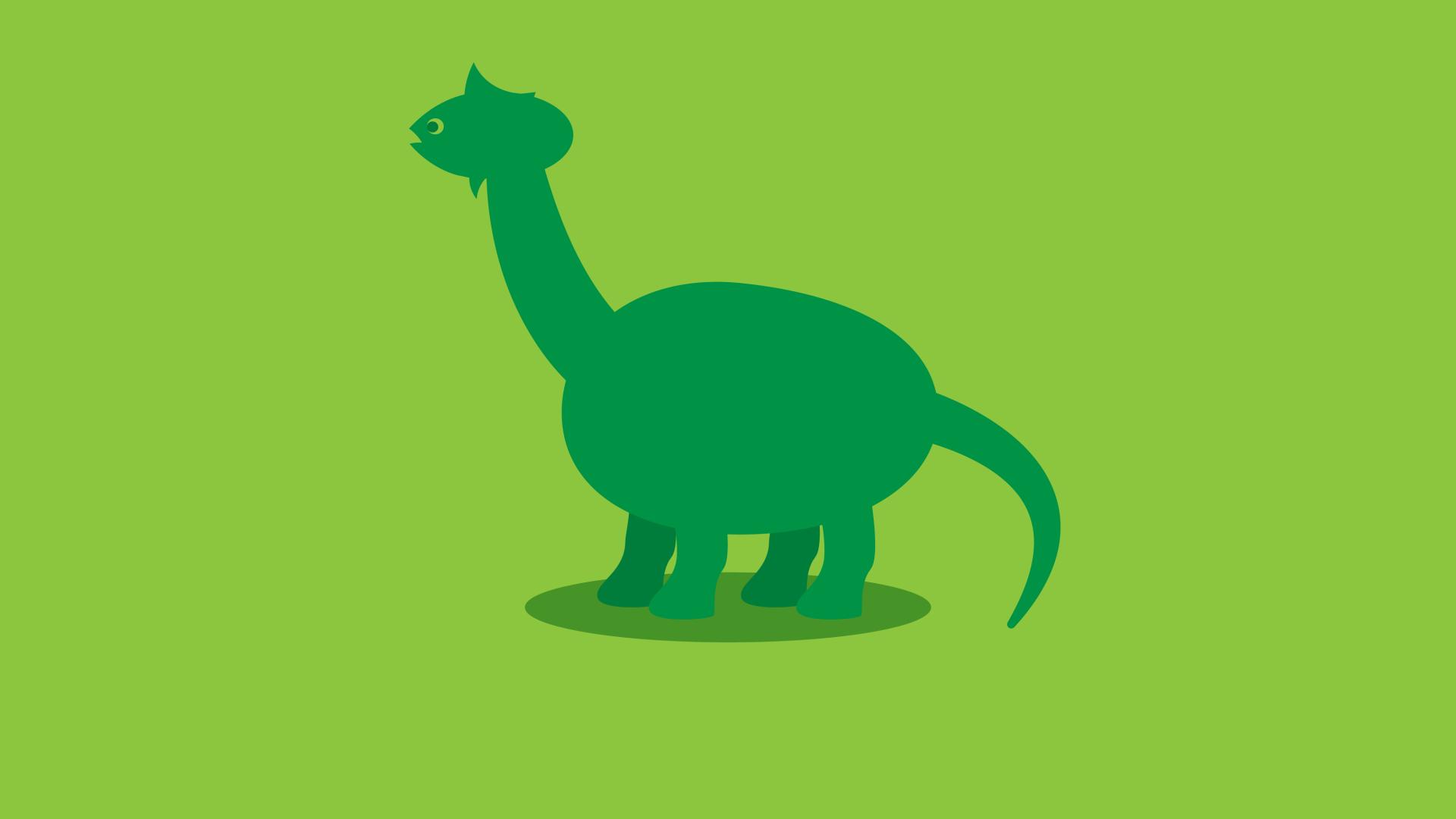1920x1080 Brontosaurus Dinosaur Minimalist 1080p Laptop Full Hd Wallpaper Hd Minimalist 4k Wallpapers Images Photos And Background