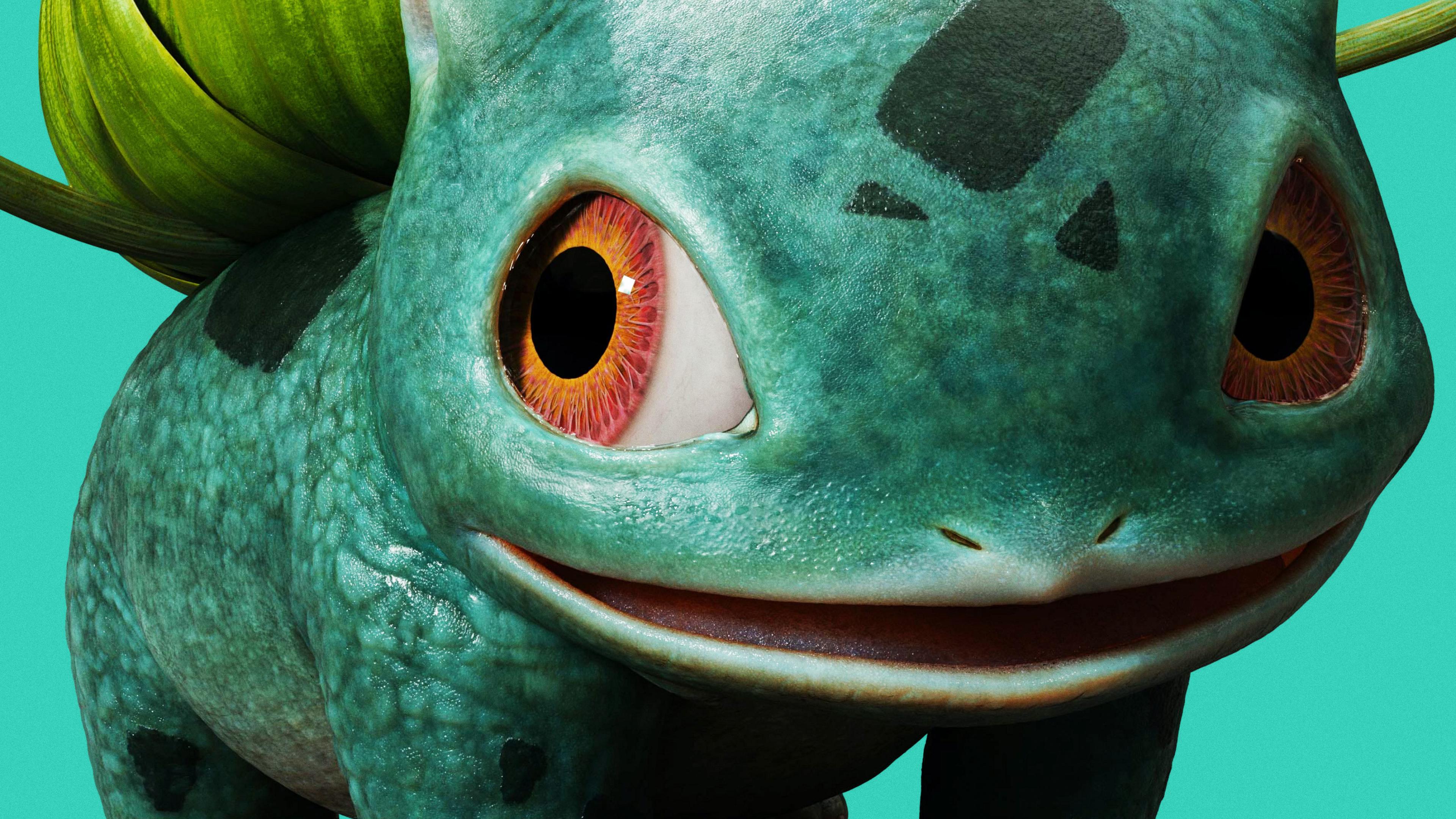 3840x2160 Bulbasaur Pokemon Detective Pikachu Movie 4k