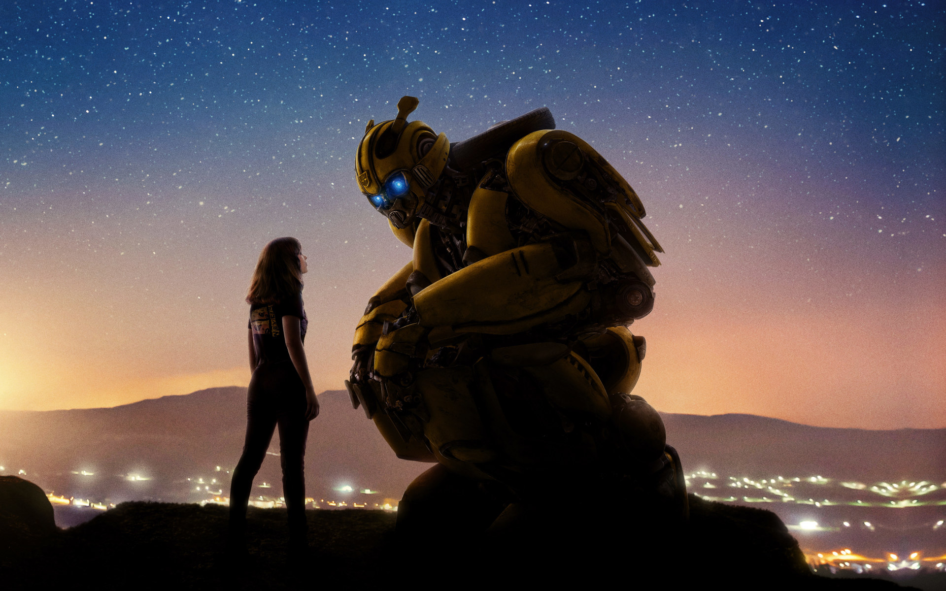 2018 Movie Posters: Bumblebee 2018 Movie Official Poster, HD 8K Wallpaper