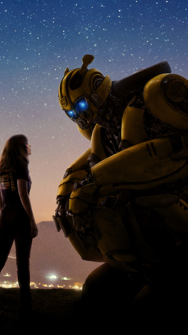 640x1136 Bumblebee 2018 Movie Official Poster iPhone 5,5c ...