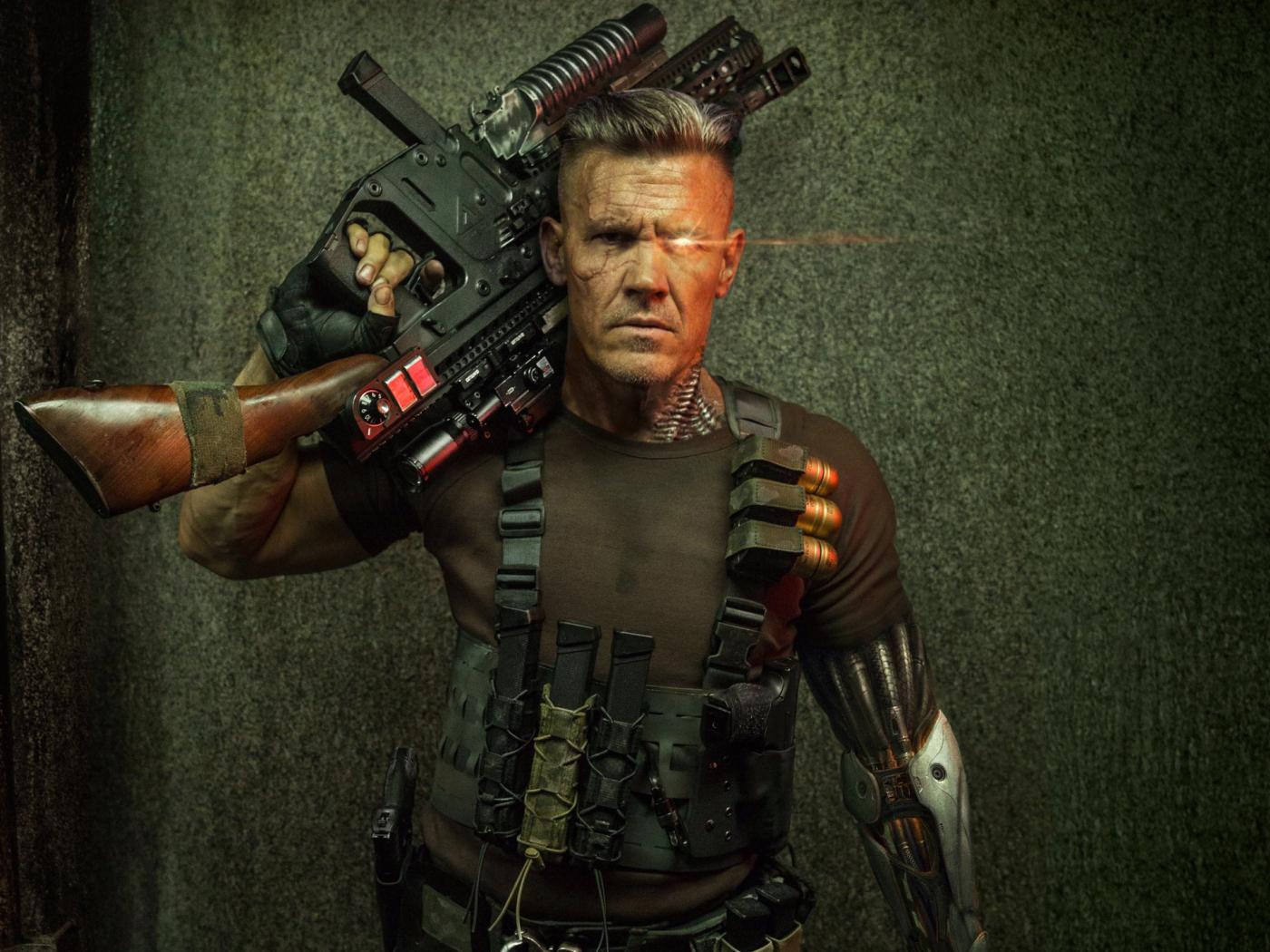 Cable Deadpool 2  Full Hd 2k Wallpaper