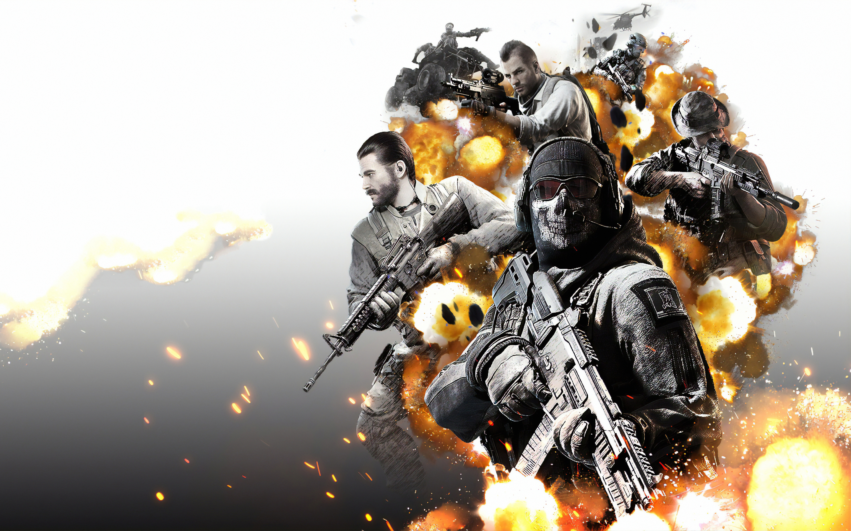 2880x1800 Call of Duty Mobile Poster Macbook Pro Retina ...