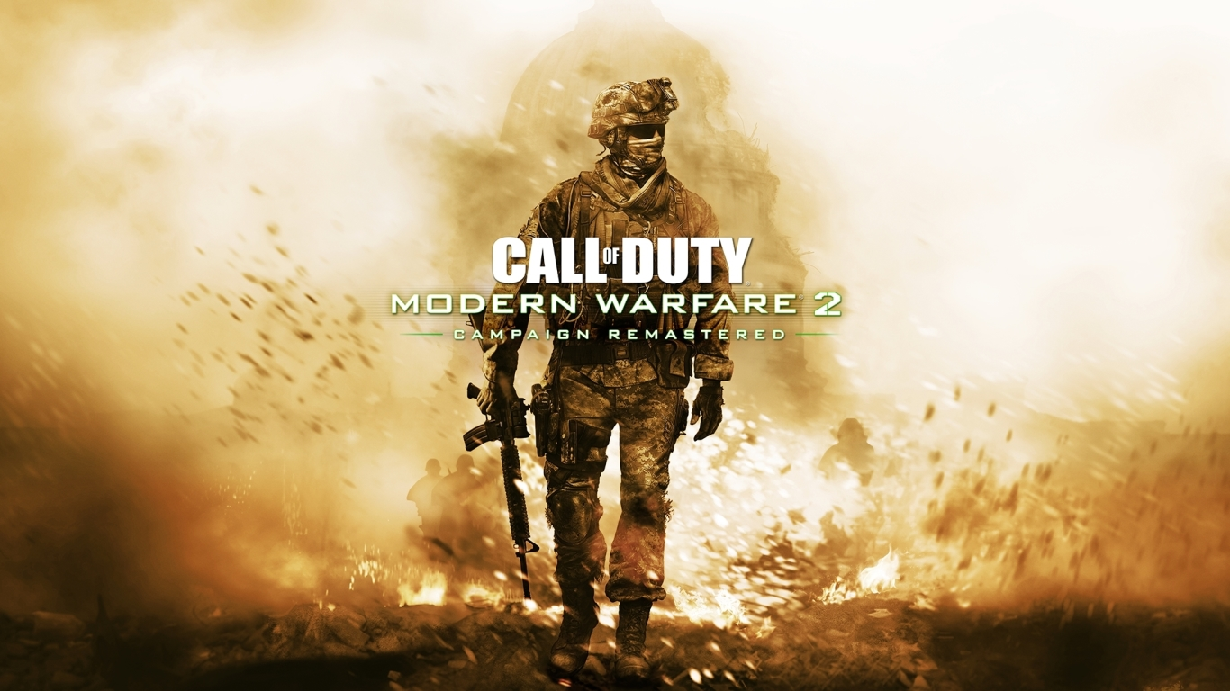 1366x768 Call of Duty Modern Warfare 2 Campaign Remastered ...