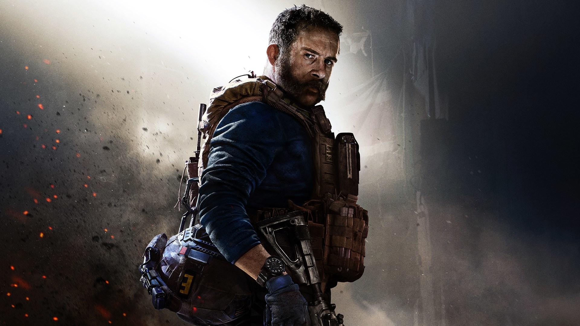 Call Of Duty Modern Warfare Game Poster Wallpaper Hd Games 4k