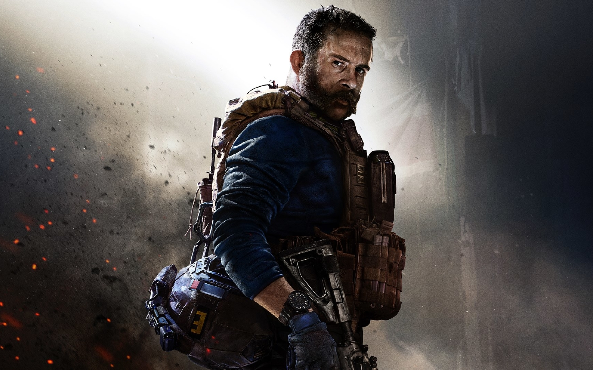 1920x1200 Call of Duty Modern Warfare Game Poster 1200P ...