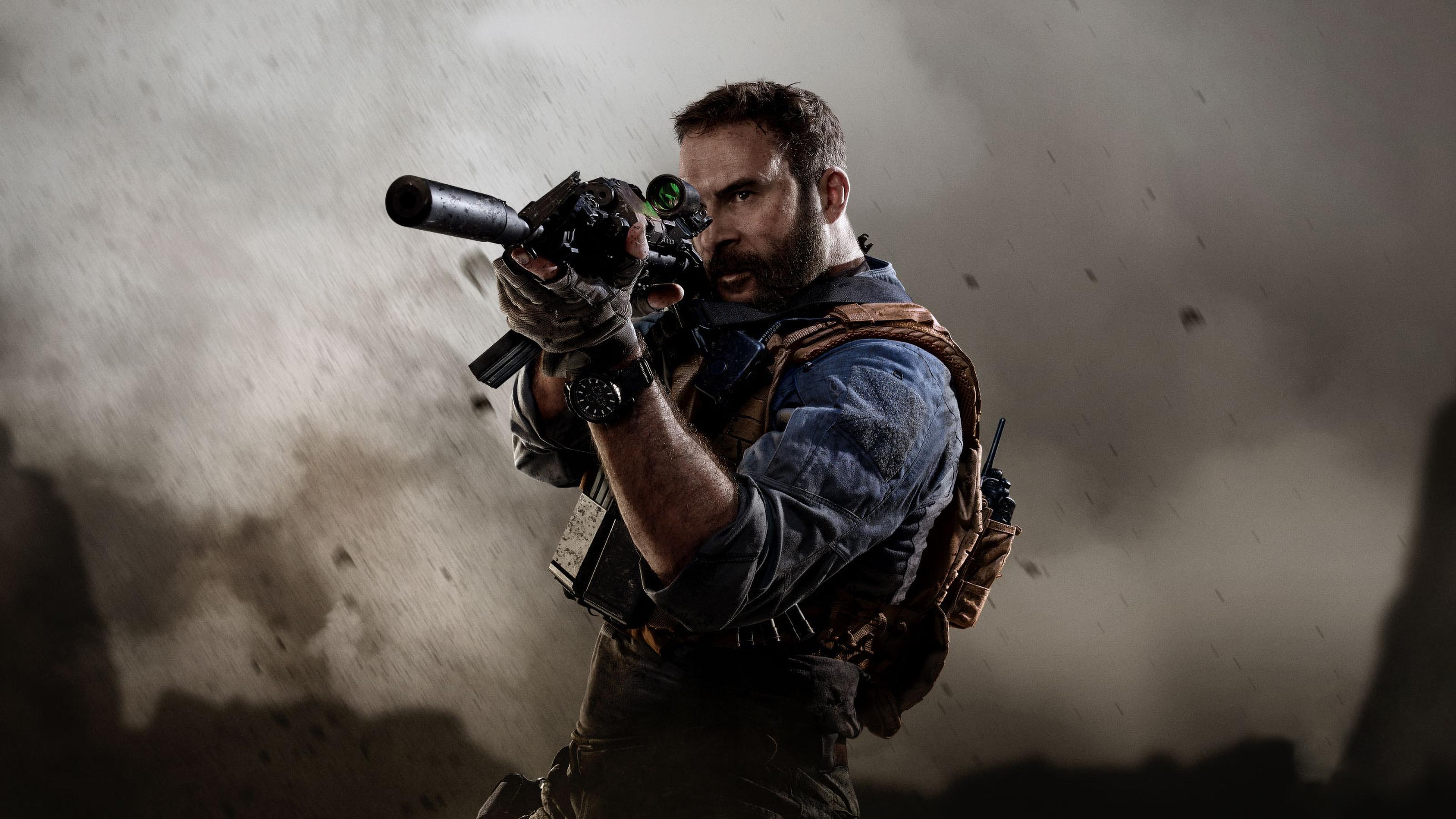 Call of Duty Modern Warfare Game Wallpaper, HD Games 4K ...