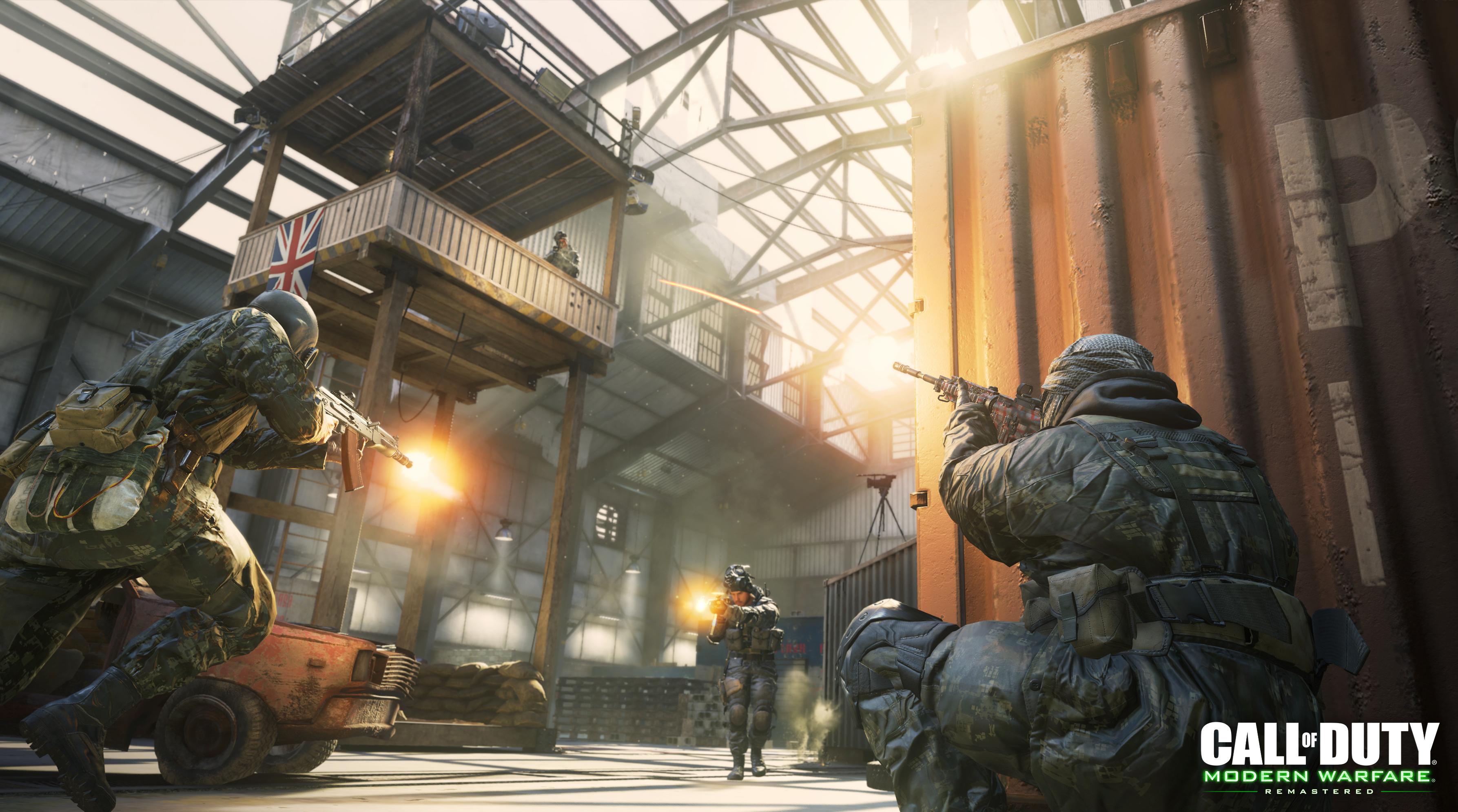 Call Of Duty Modern Warfare Remastered 2017 Wallpaper Hd