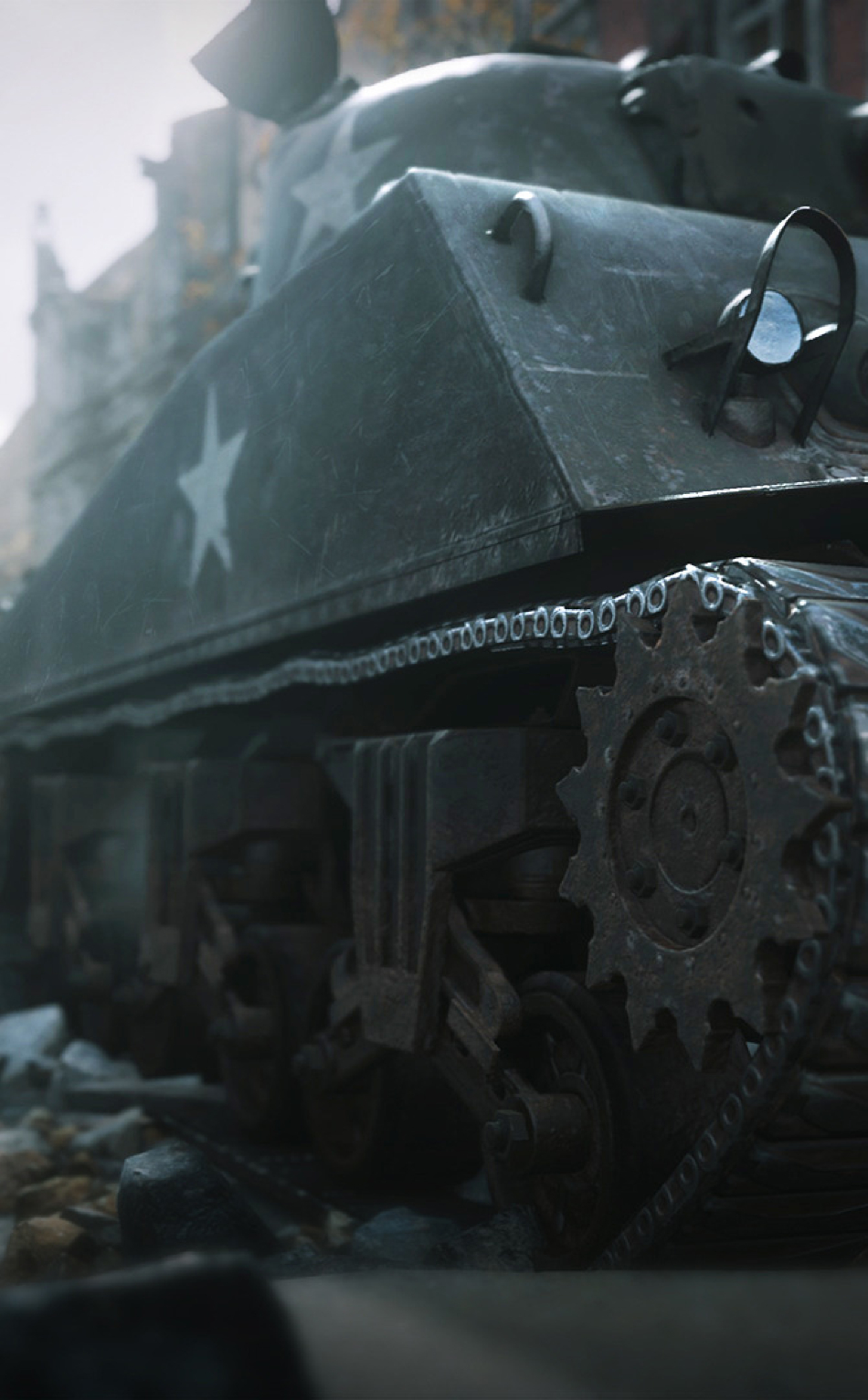 Call Of Duty Ww2 Tank Full Hd Wallpaper
