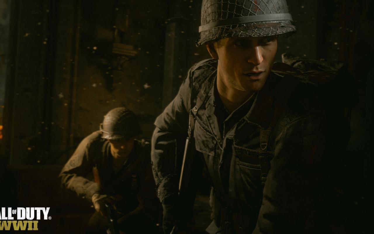Call Of Duty Ww2 Wallpaper: Call Of Duty Ww2, Full HD 2K Wallpaper