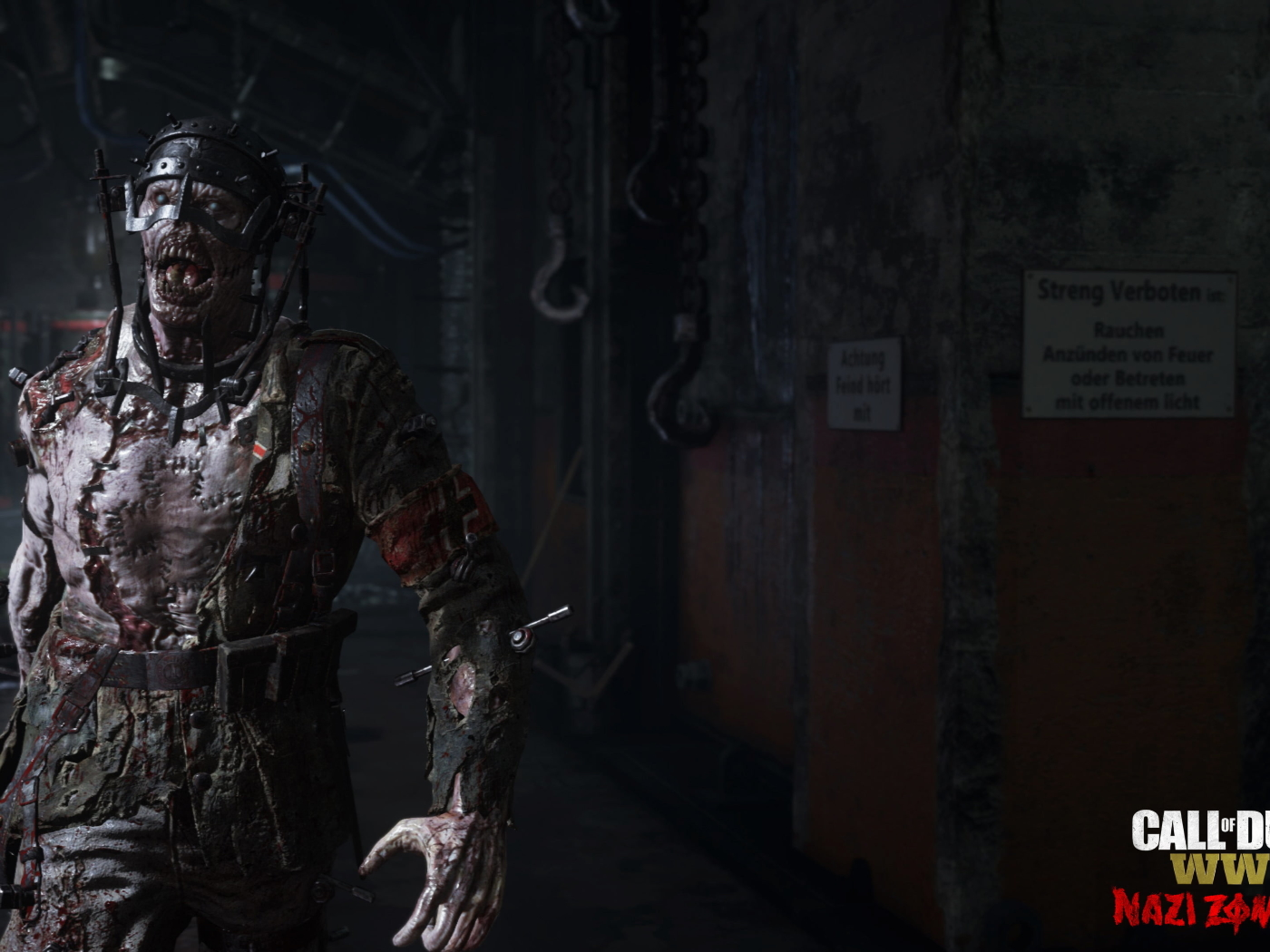 Call Of Duty Ww2 Zombies Wallpaper: Call Of Duty Wwii Nazi Zombies Gameplay, HD 4K Wallpaper