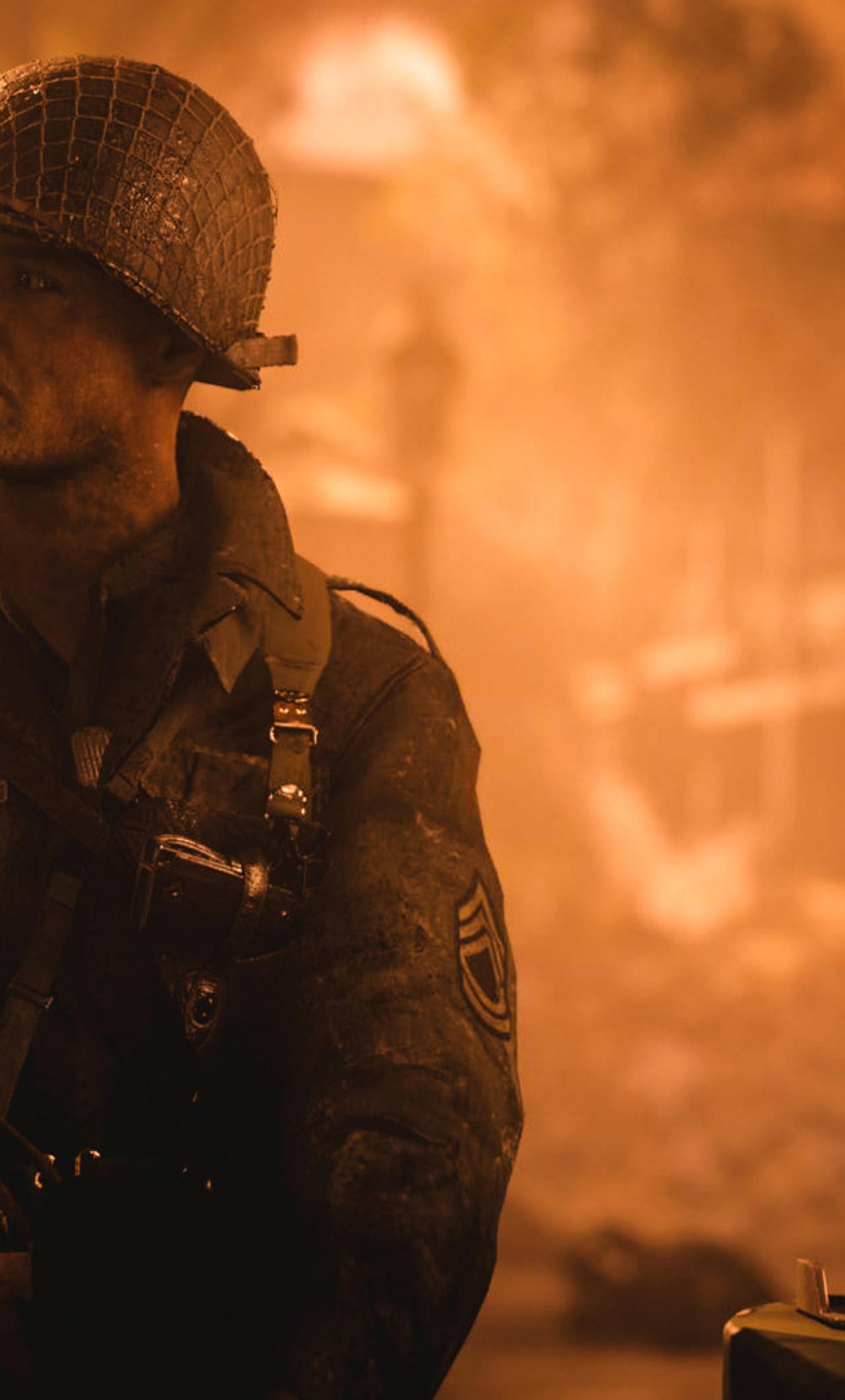 Call of duty wwii soldier full hd wallpaper - Call of duty ww2 desktop ...