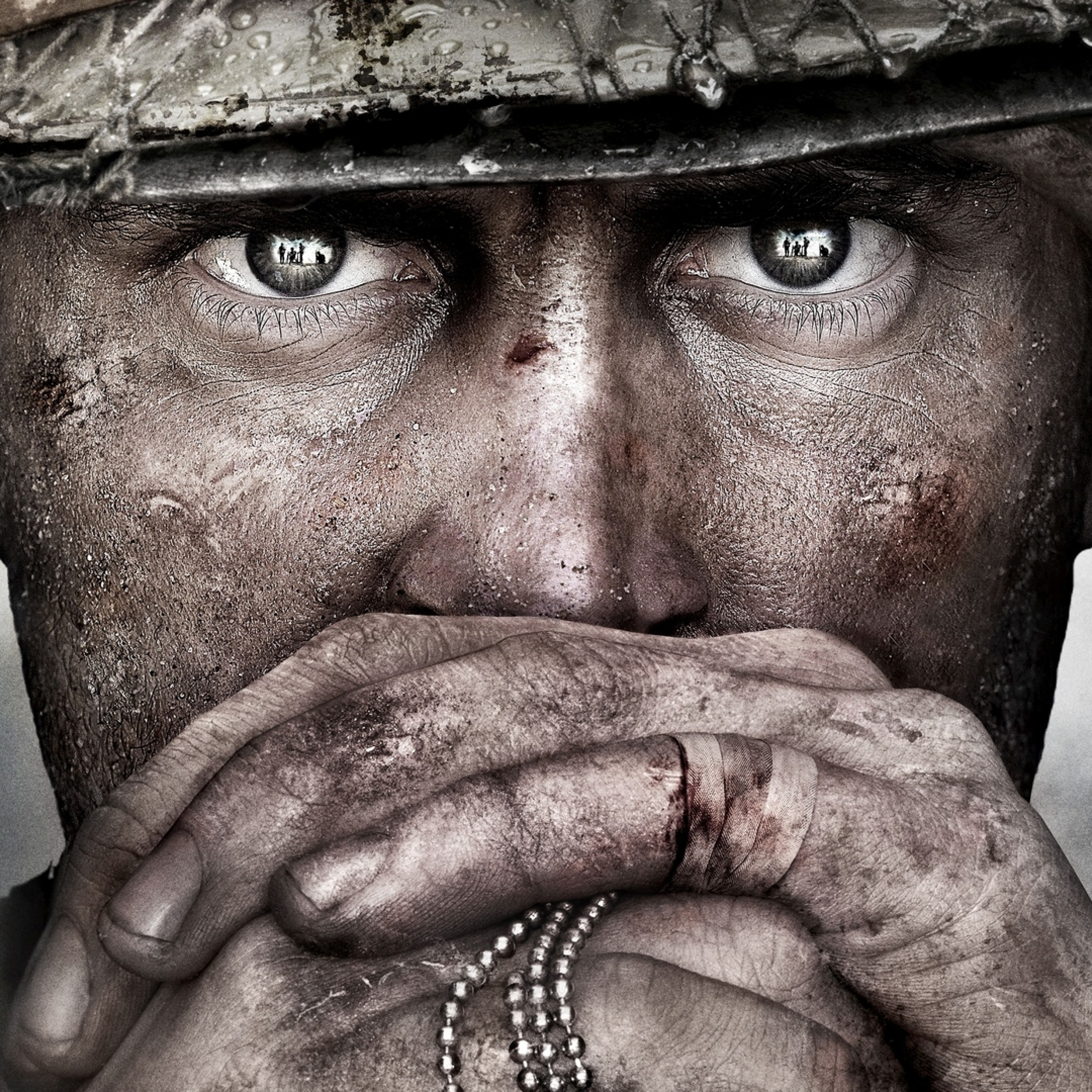 2932x2932 Call Of Duty Wwii Ipad Pro Retina Display Wallpaper Hd
