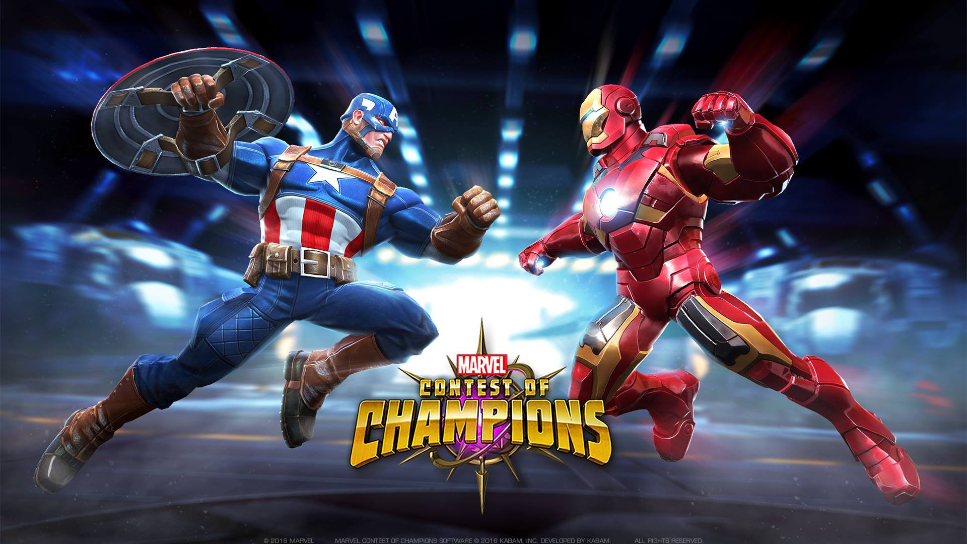 Champions Image: Captain America And Iron Man Marvel Contest Of Champions