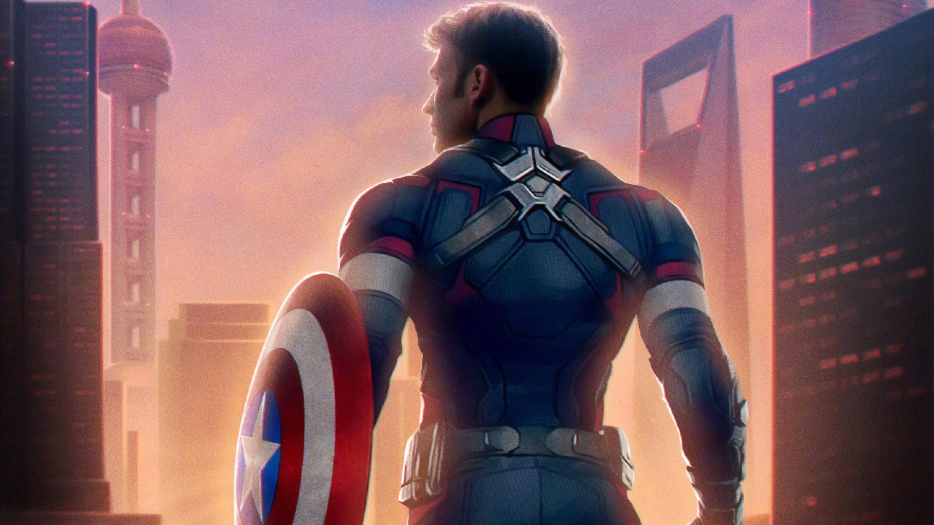 1920x1080 Captain America Avengers Endgame 1080p Laptop Full