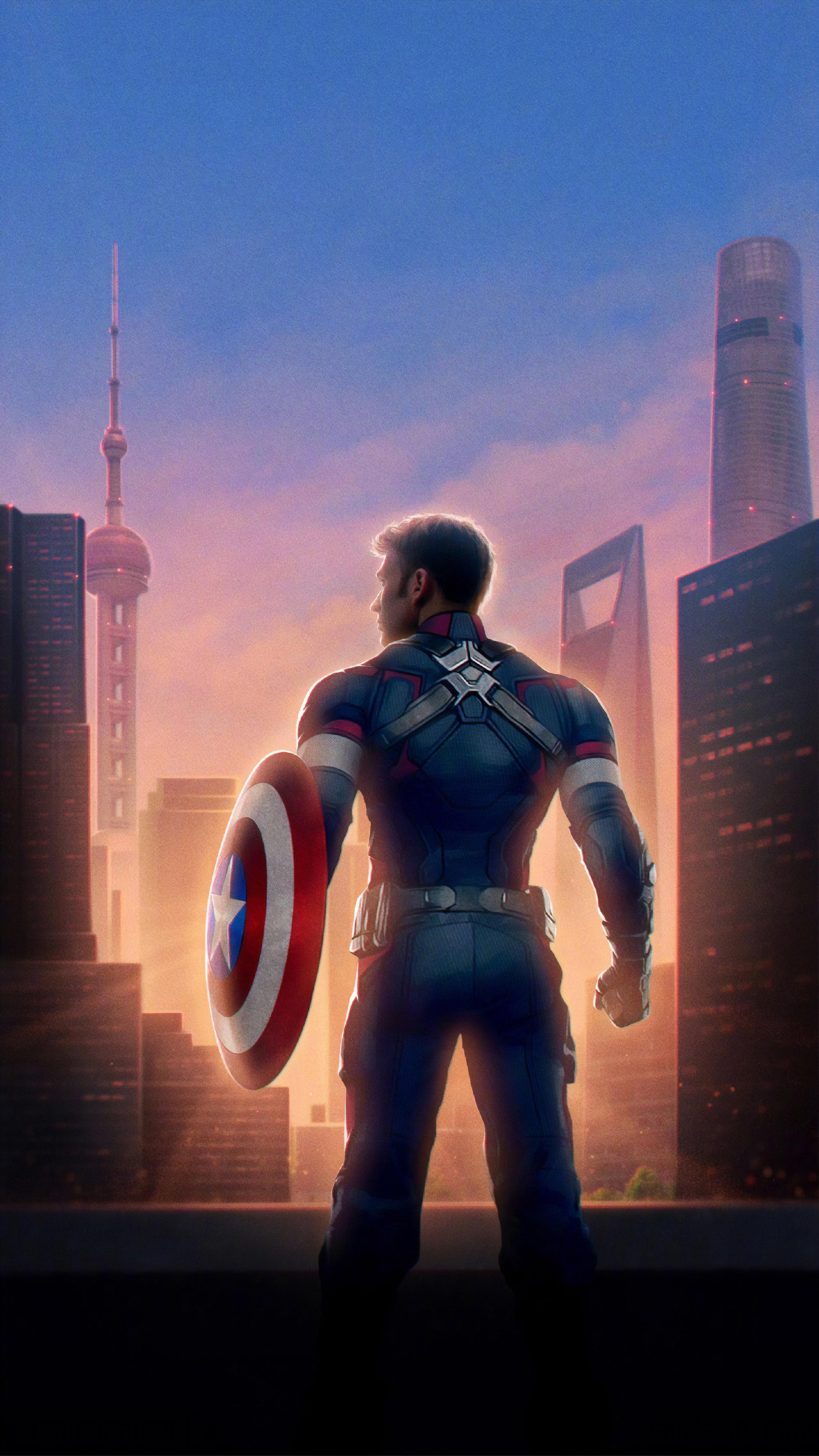 Captain America Avengers Endgame Wallpaper, HD Movies 4K ...