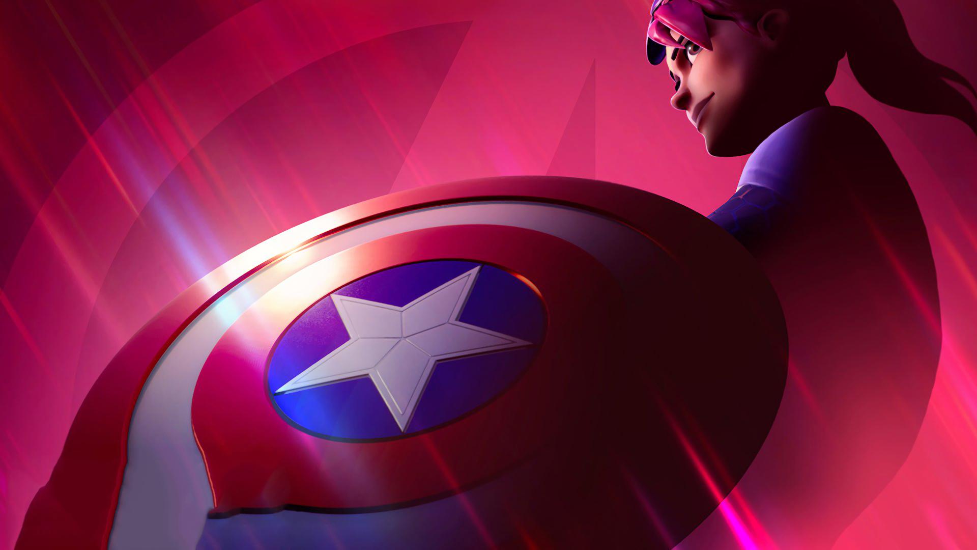 1920x1080 Captain America Fortnite Avengers 1080p Laptop