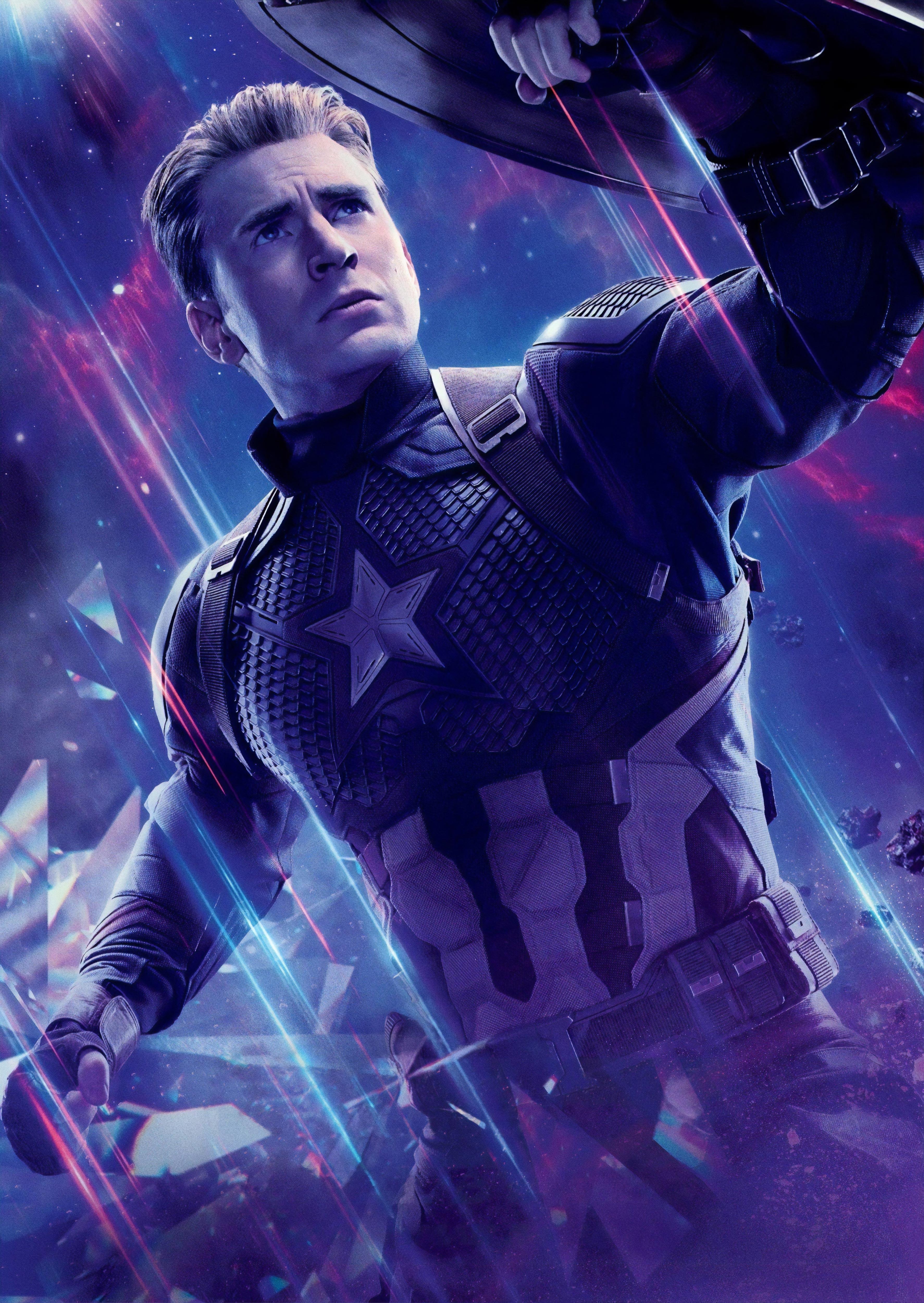 Captain America In Avengers Endgame Wallpaper Hd Movies 4k